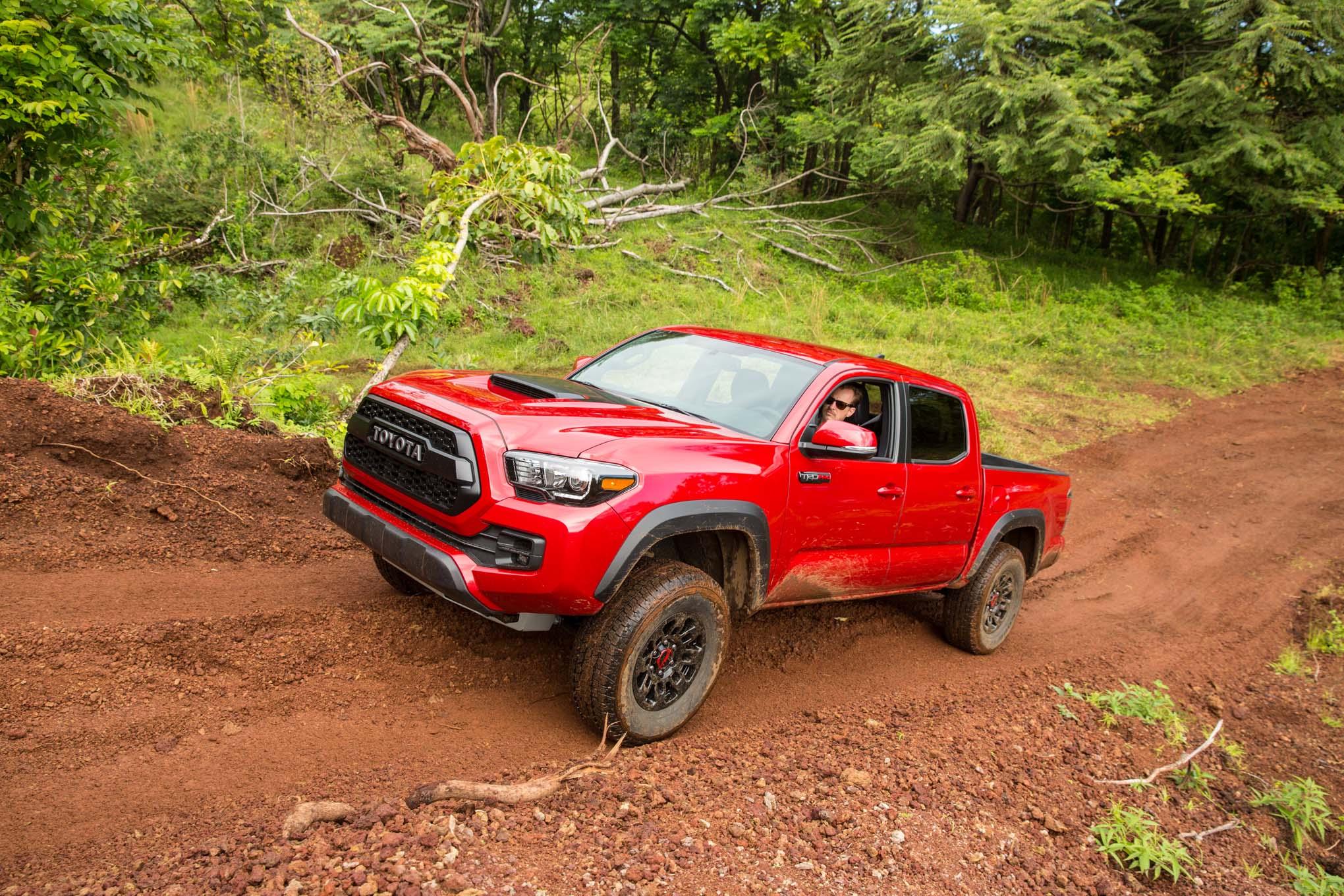 2019 Toyota Tacoma TRD Pro Teased Ahead of Debut | Automobile Magazine