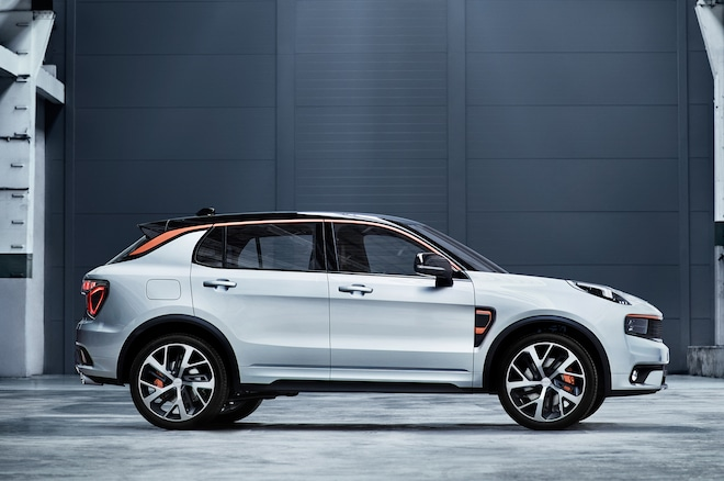 Lynk And Co 01 Sport Front Three Quarter