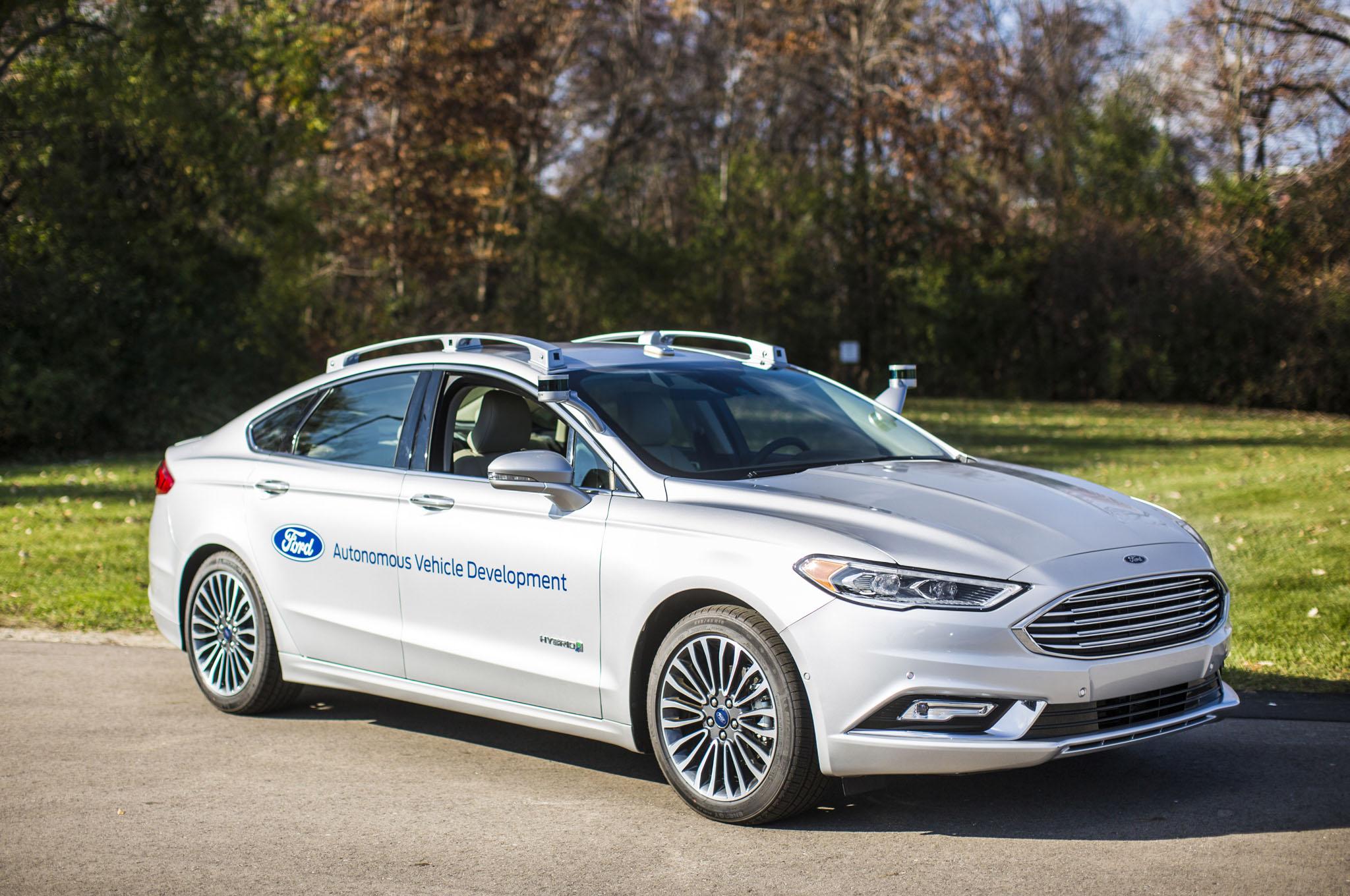 Ford Fusion Hybrid Autonomous Development Vehicle