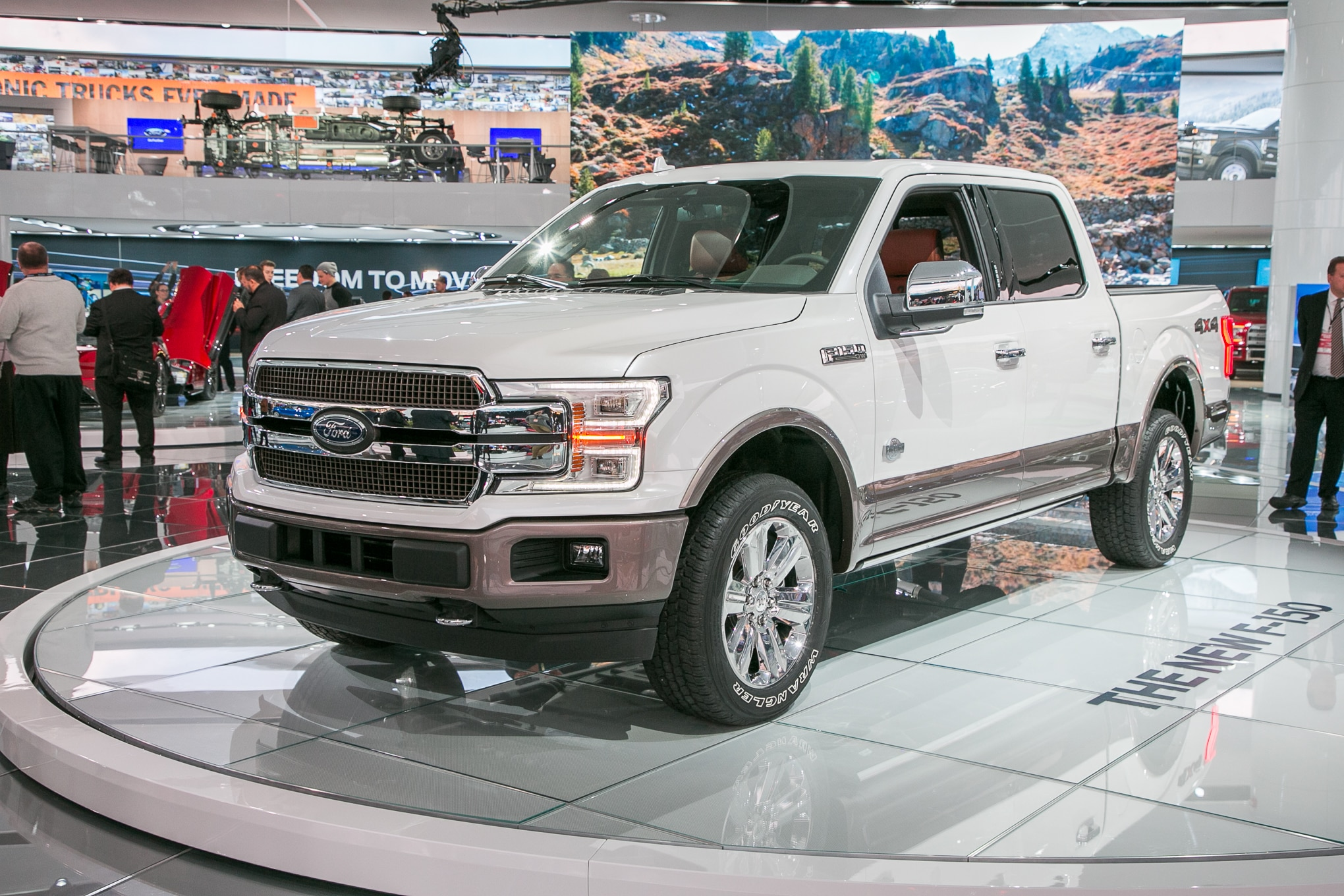 2018 ford f 150 king ranch configurations. Black Bedroom Furniture Sets. Home Design Ideas