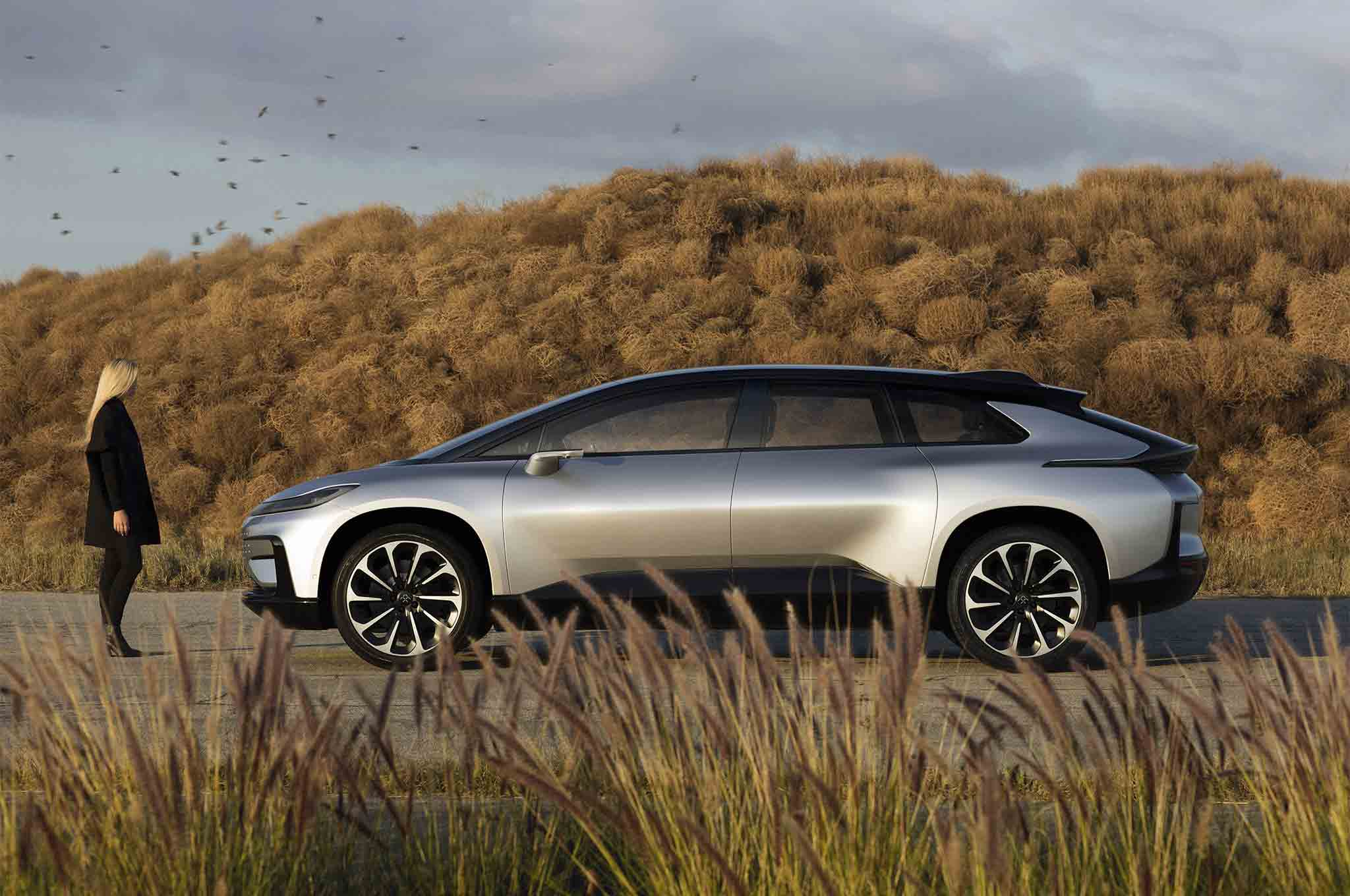 Faraday Future FF 91 Side Profile 01
