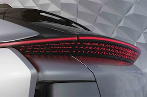 Faraday Future FF 91 Tail Light 02