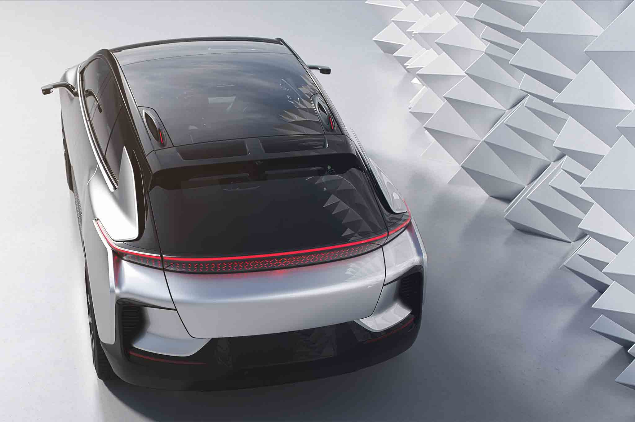 Faraday Future FF 91 Top View 03