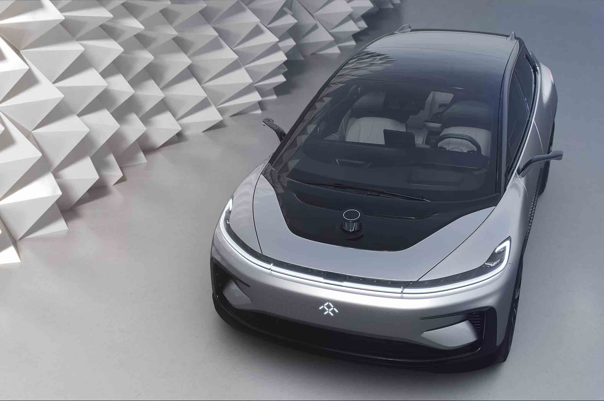 Faraday Future FF 91 Top View 04