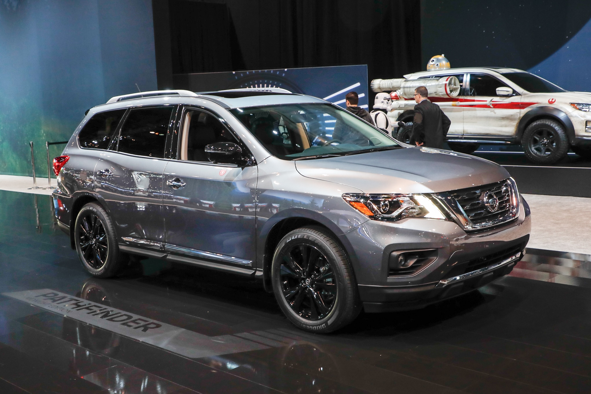 Nissan Pathfinder Platinum >> 2018 Nissan Pathfinder's Rear Door Alert Reminds You That You Used the Back Seat | Automobile ...