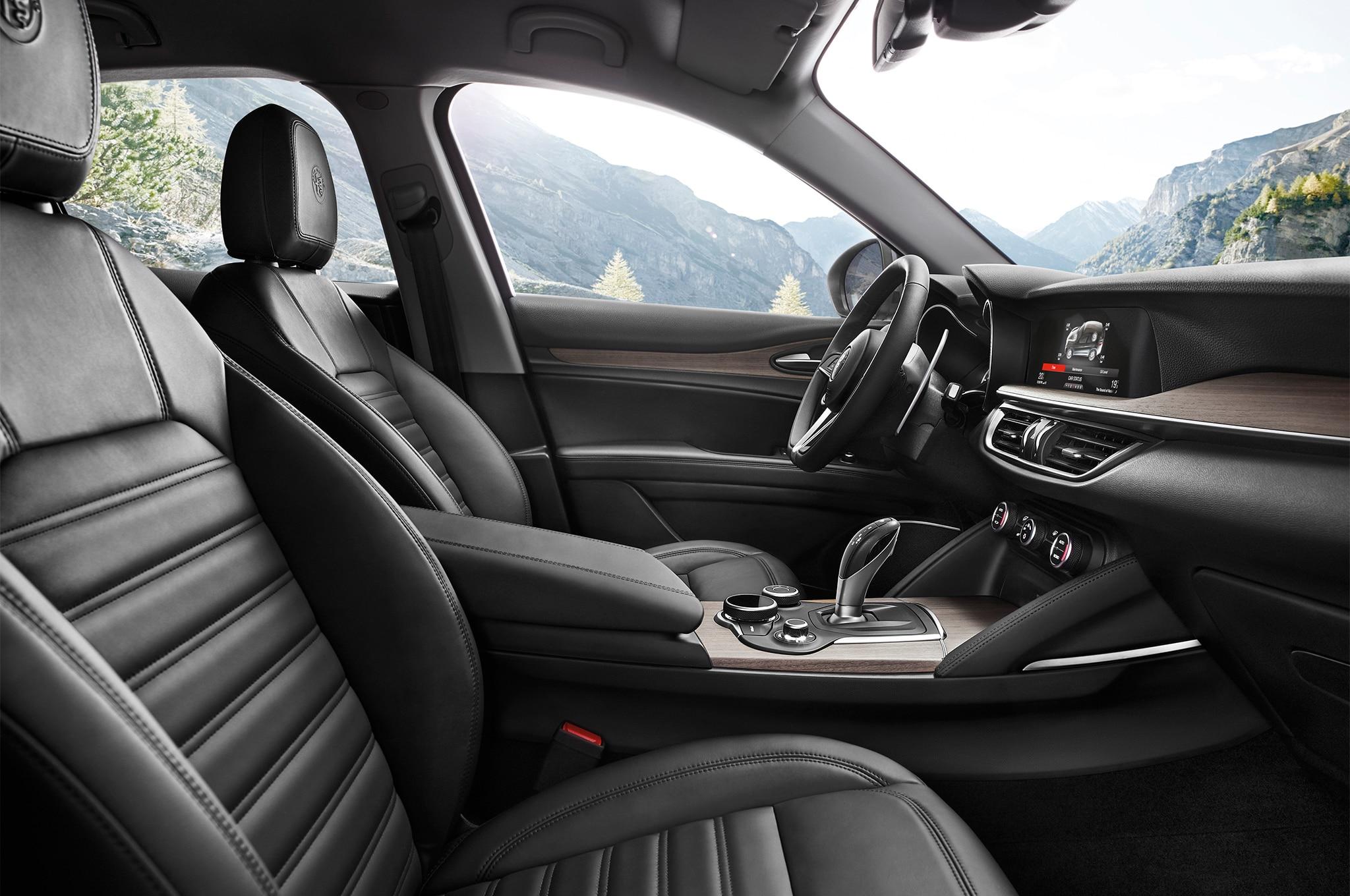 2018 Alfa Romeo Stelvio Ti Sport Awd One Week Review Automobile