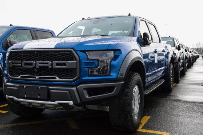 2017 Ford F-150 Raptors Go Global