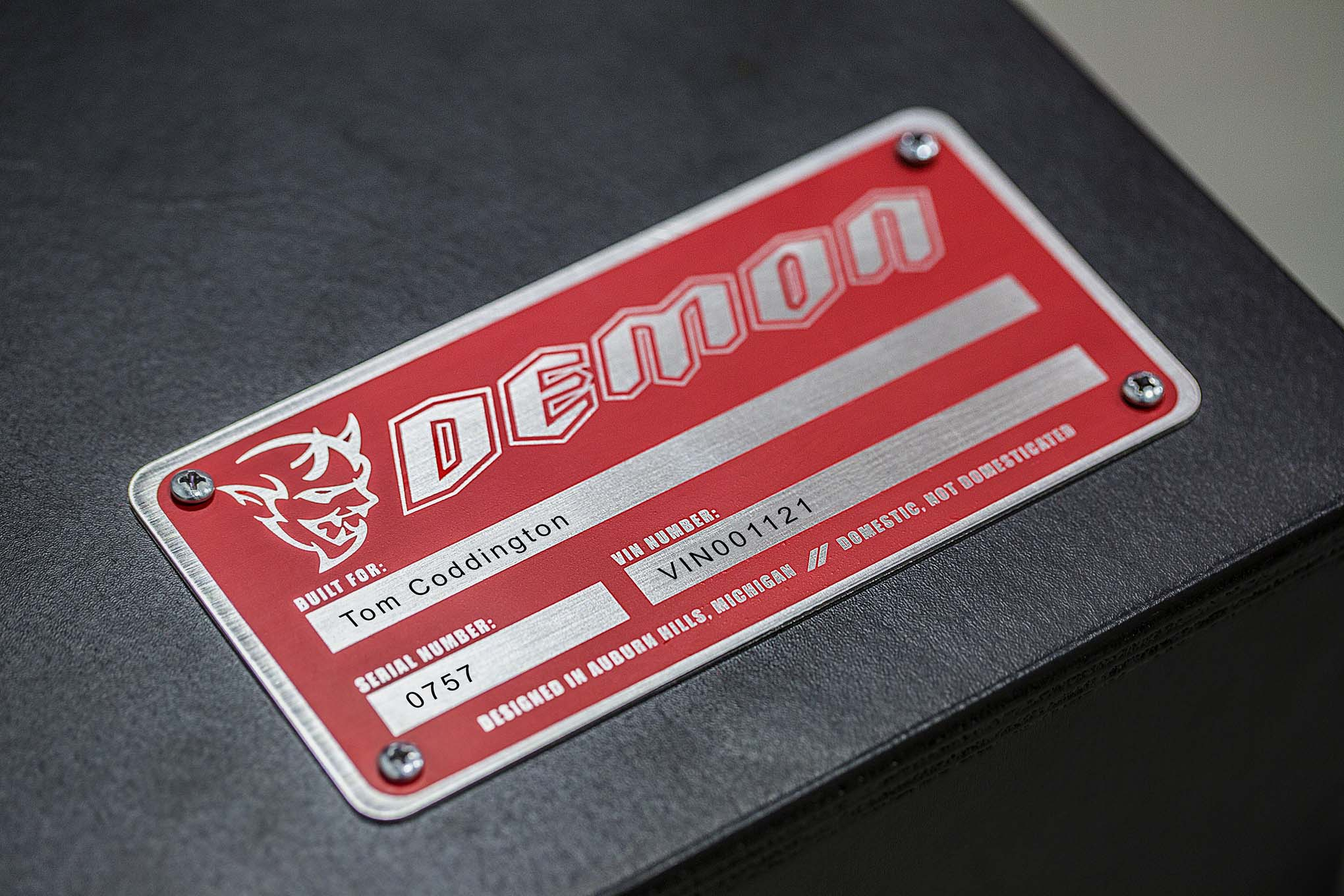 Dodge Attempts to Limit Challenger Demon Markups by