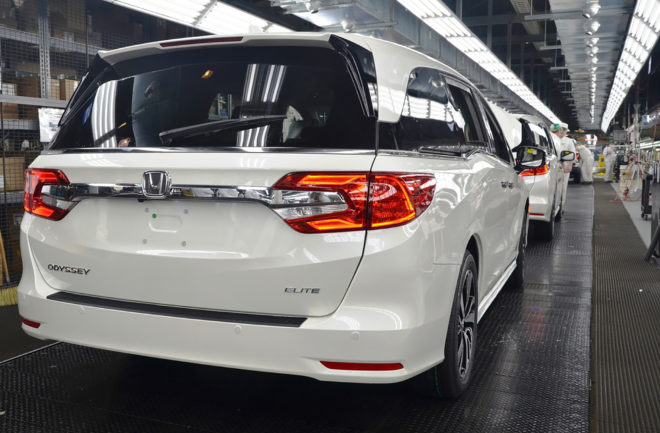 2018 Honda Odyssey Production Begins Motor Trend