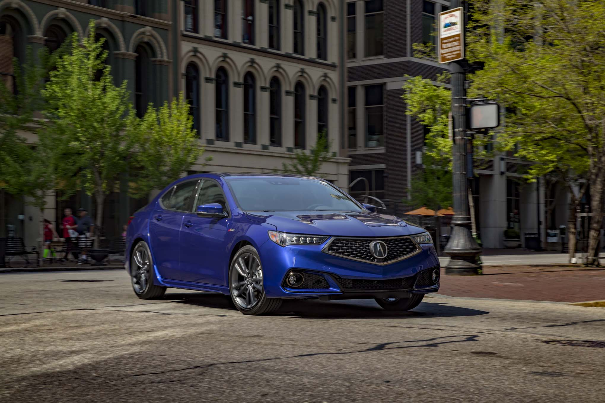 2018 Acura TLX SH AWD A Spec Front Three Quarter