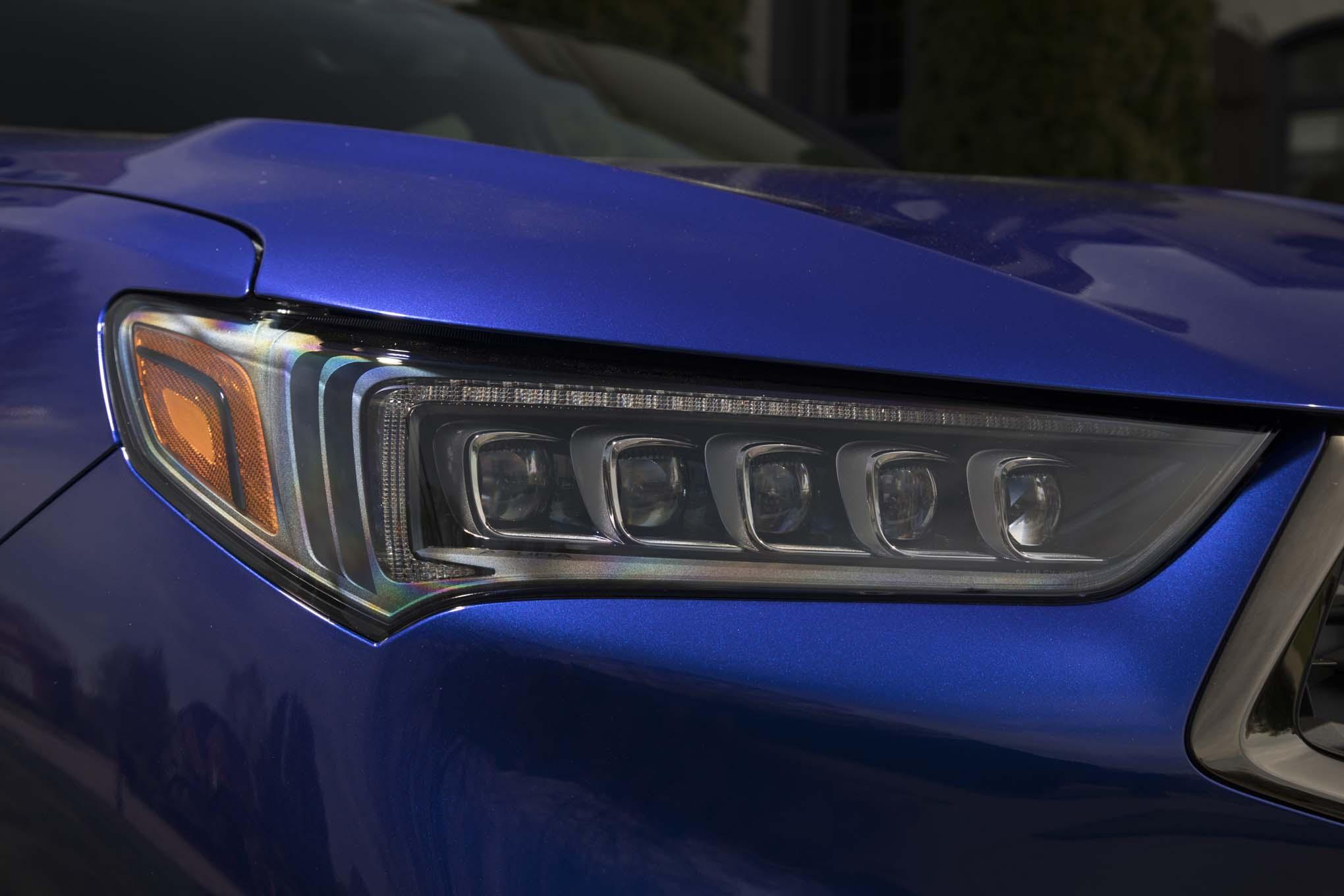 Refreshed Acura TLX Starts At Automobile Magazine - 2018 acura tsx headlights