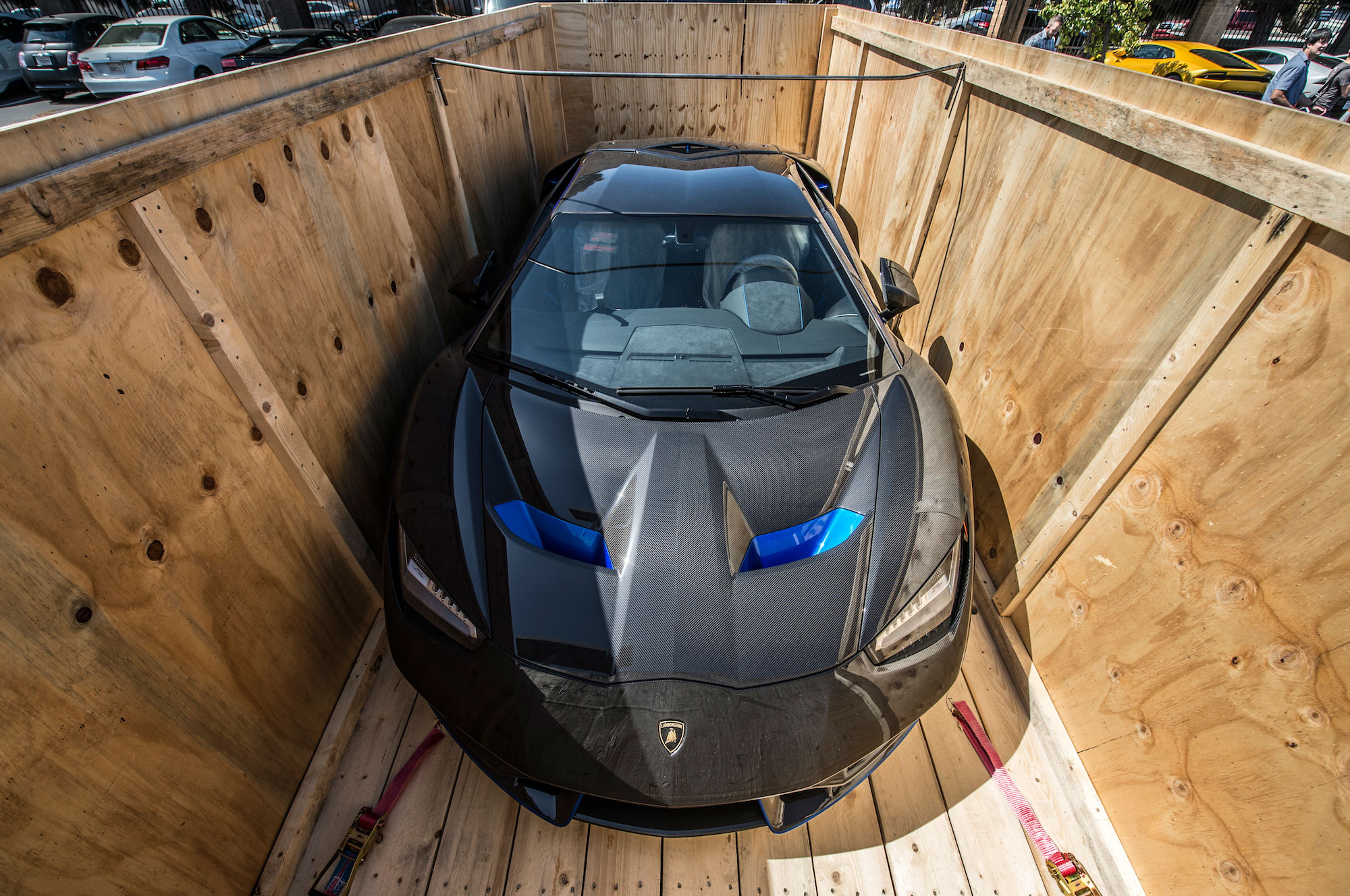First U S Customer Receives Lamborghini Centenario