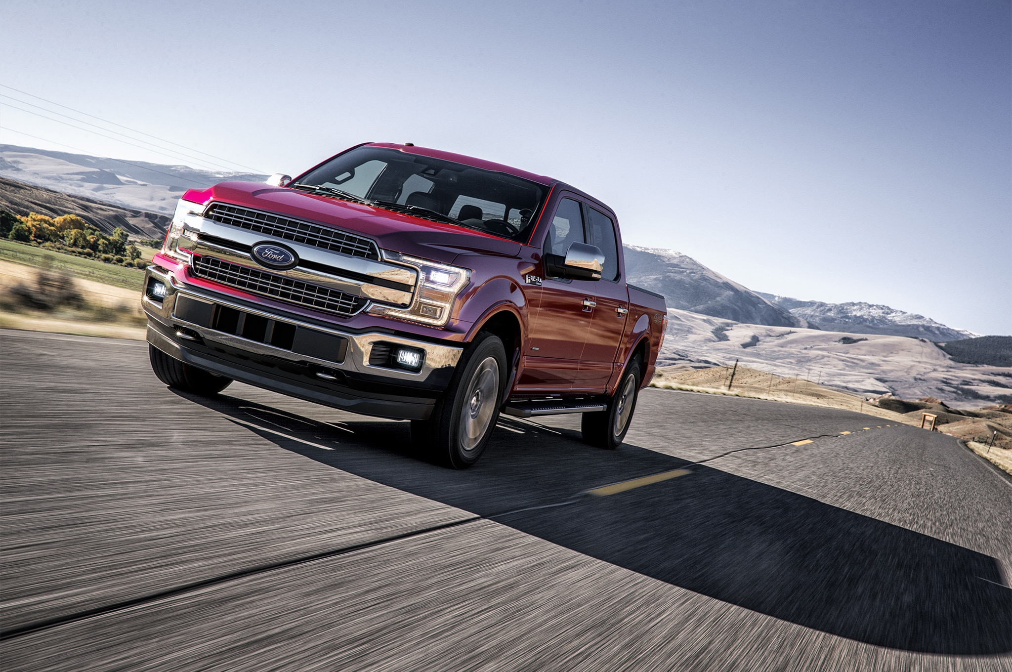 New   Liter Twin Turbo V  Ford F  Expedition Makes  Horsepower