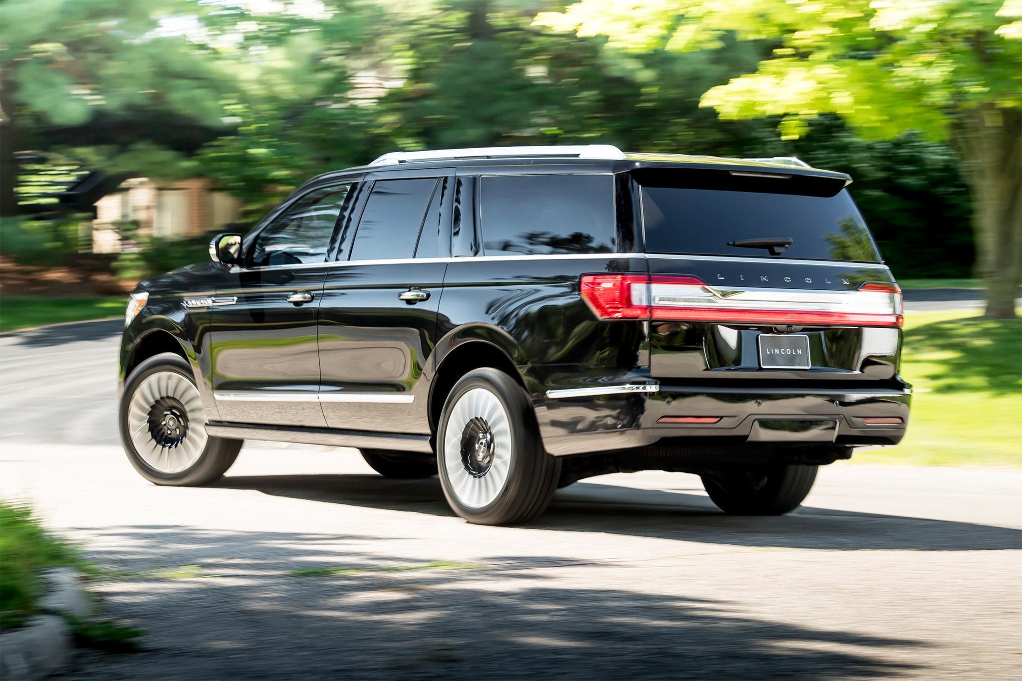 First Drive 2018 Lincoln Navigator Reserve Automobile Magazine