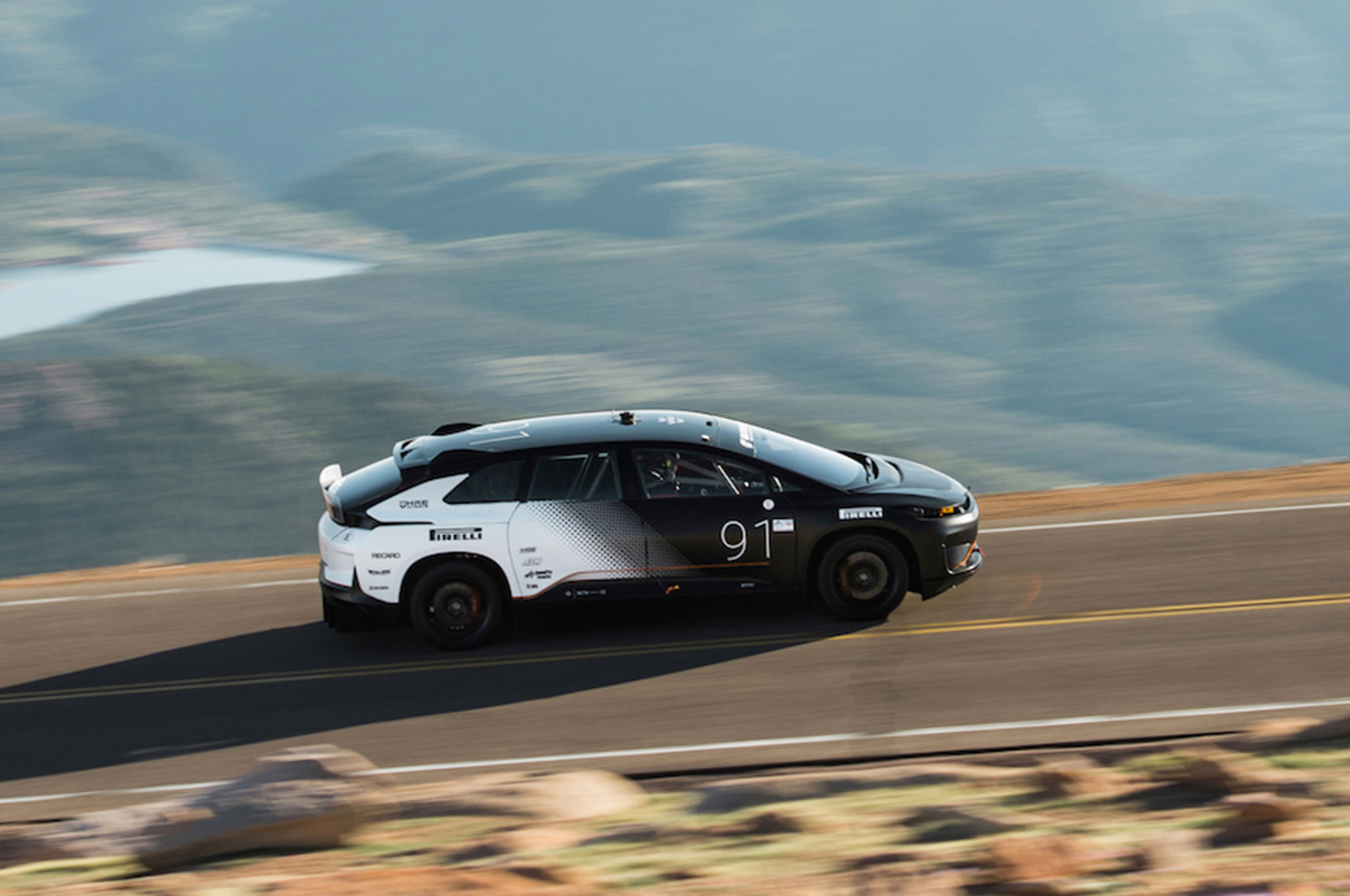 Faraday Future FF 91 Pikes Peak