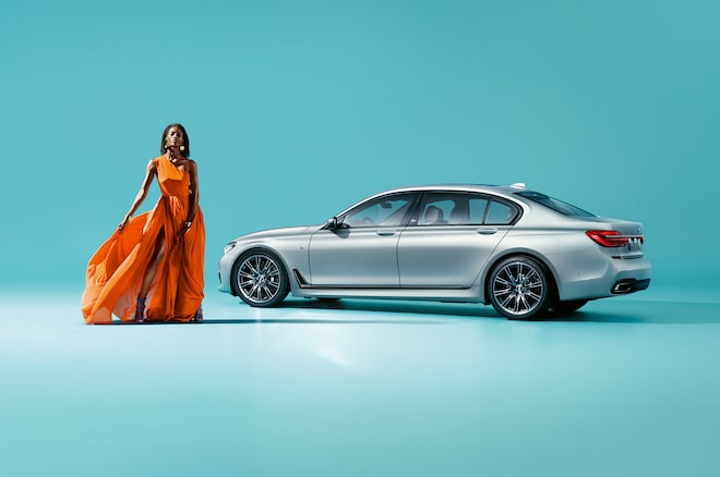 BMW 7 Series Edition 40 Jahre With BMW 7 Series From Rear Side