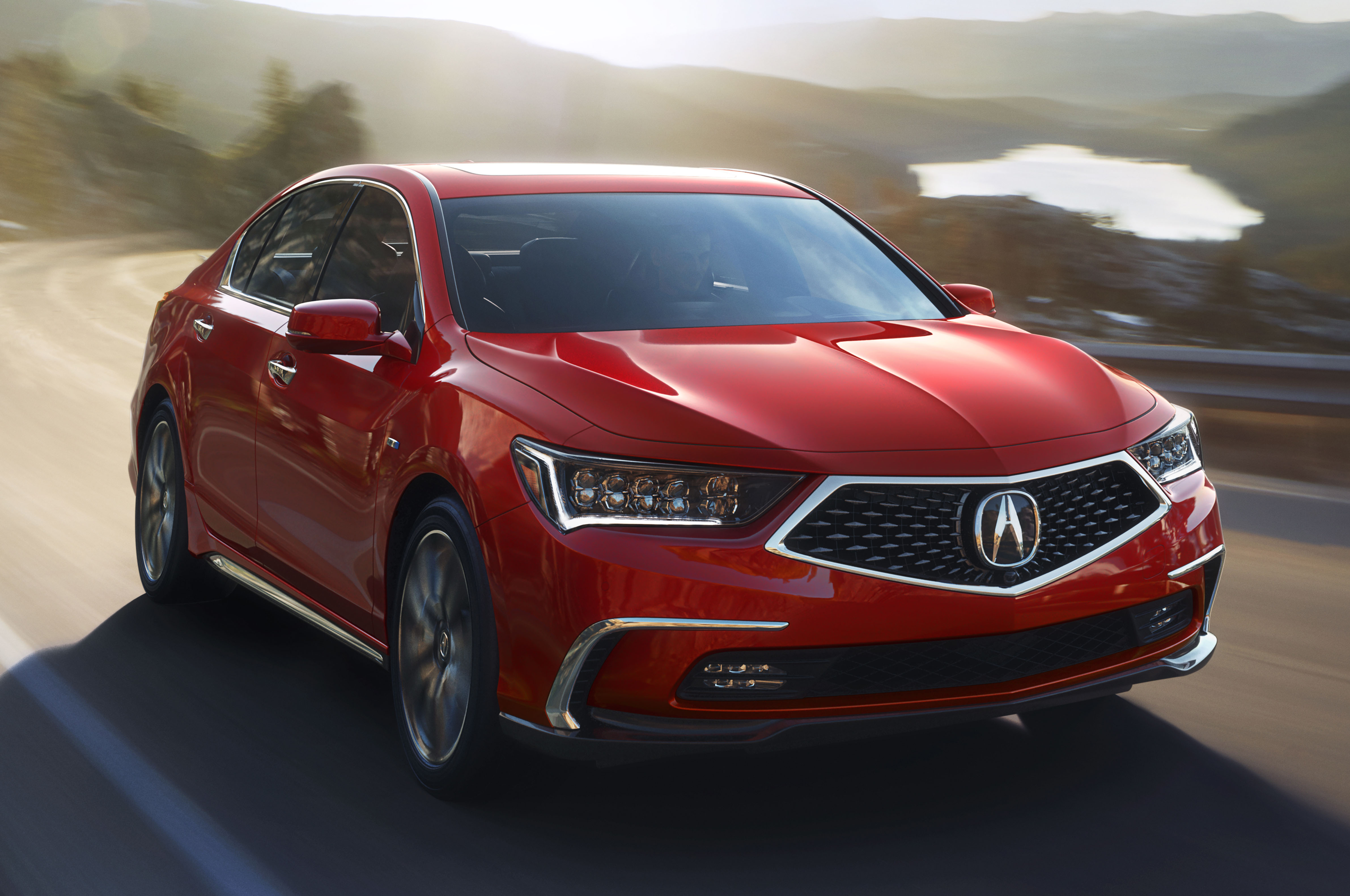 2018 Acura RLX Front Three Quarters