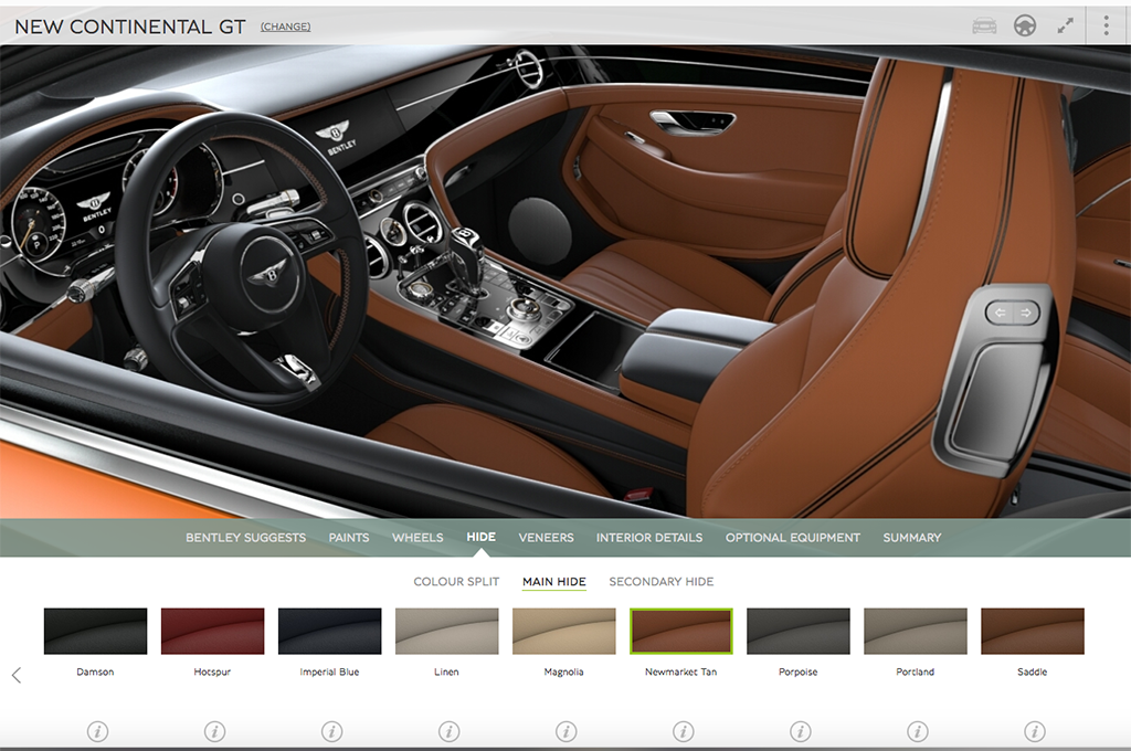 Jaguar Interior 2017 >> Stop What You Are Doing and Build Your New Bentley Continental GT, Right Now | Automobile Magazine