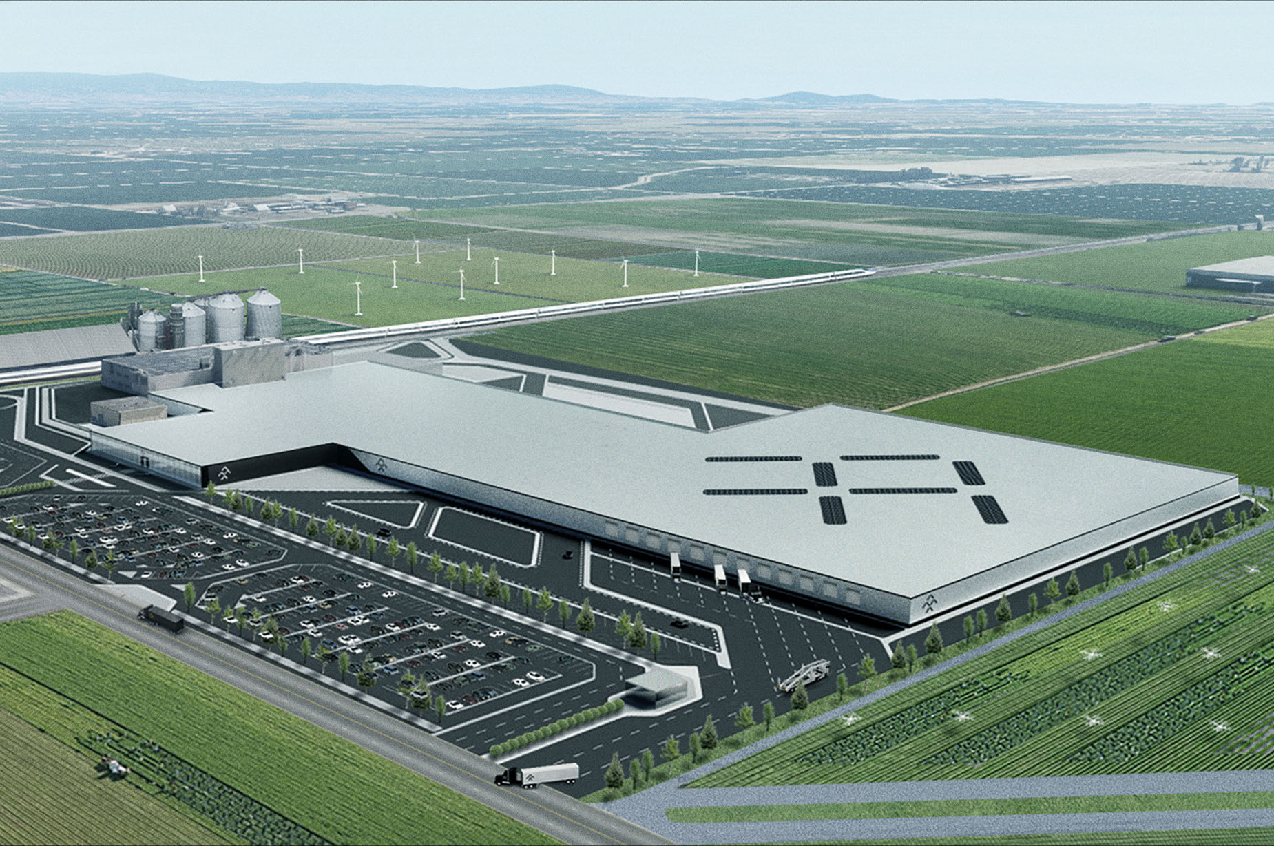 Faraday Future New Hanford Factory