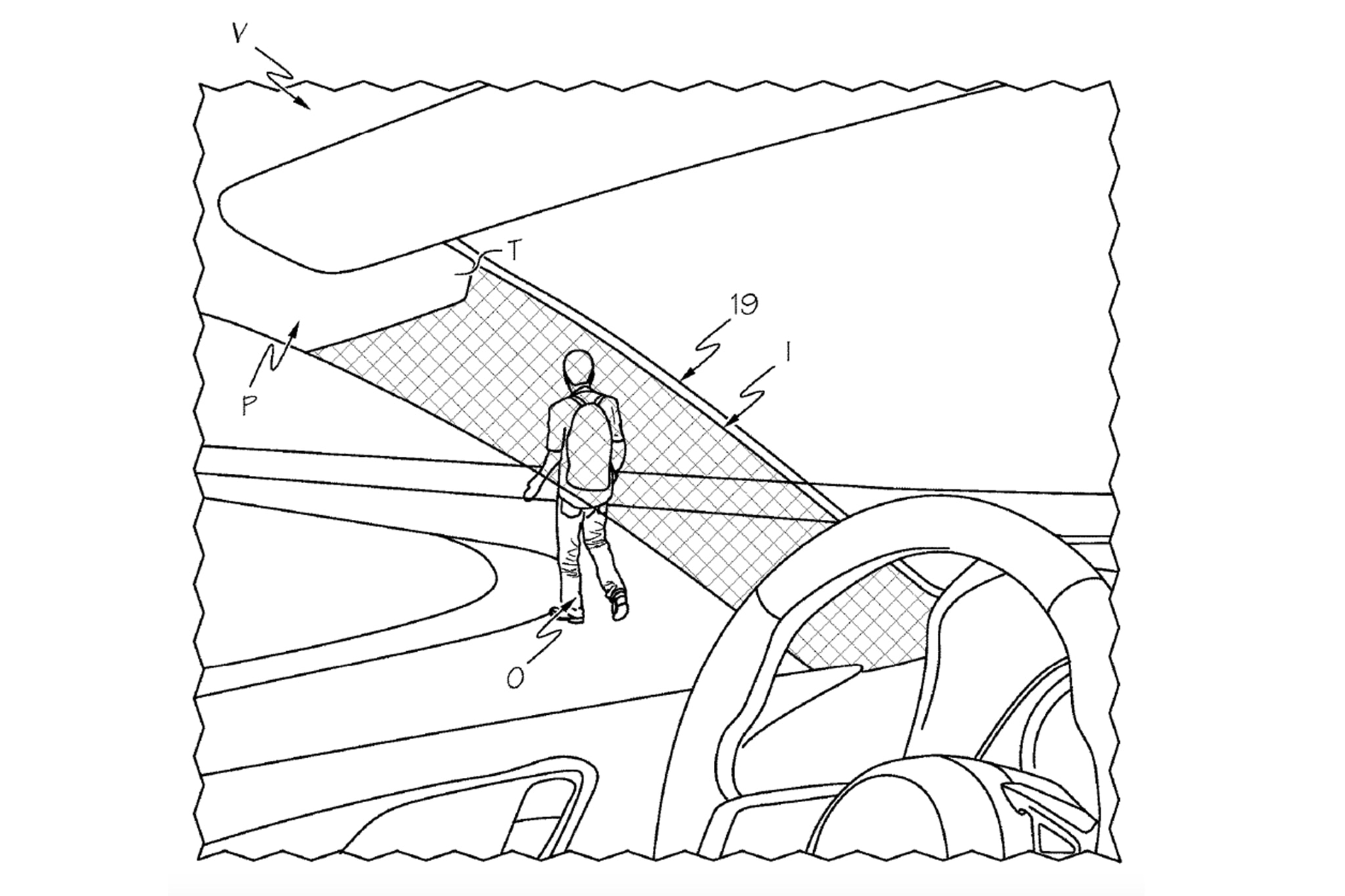 Invisible Minivan Toyota Patents See Through A Pillars