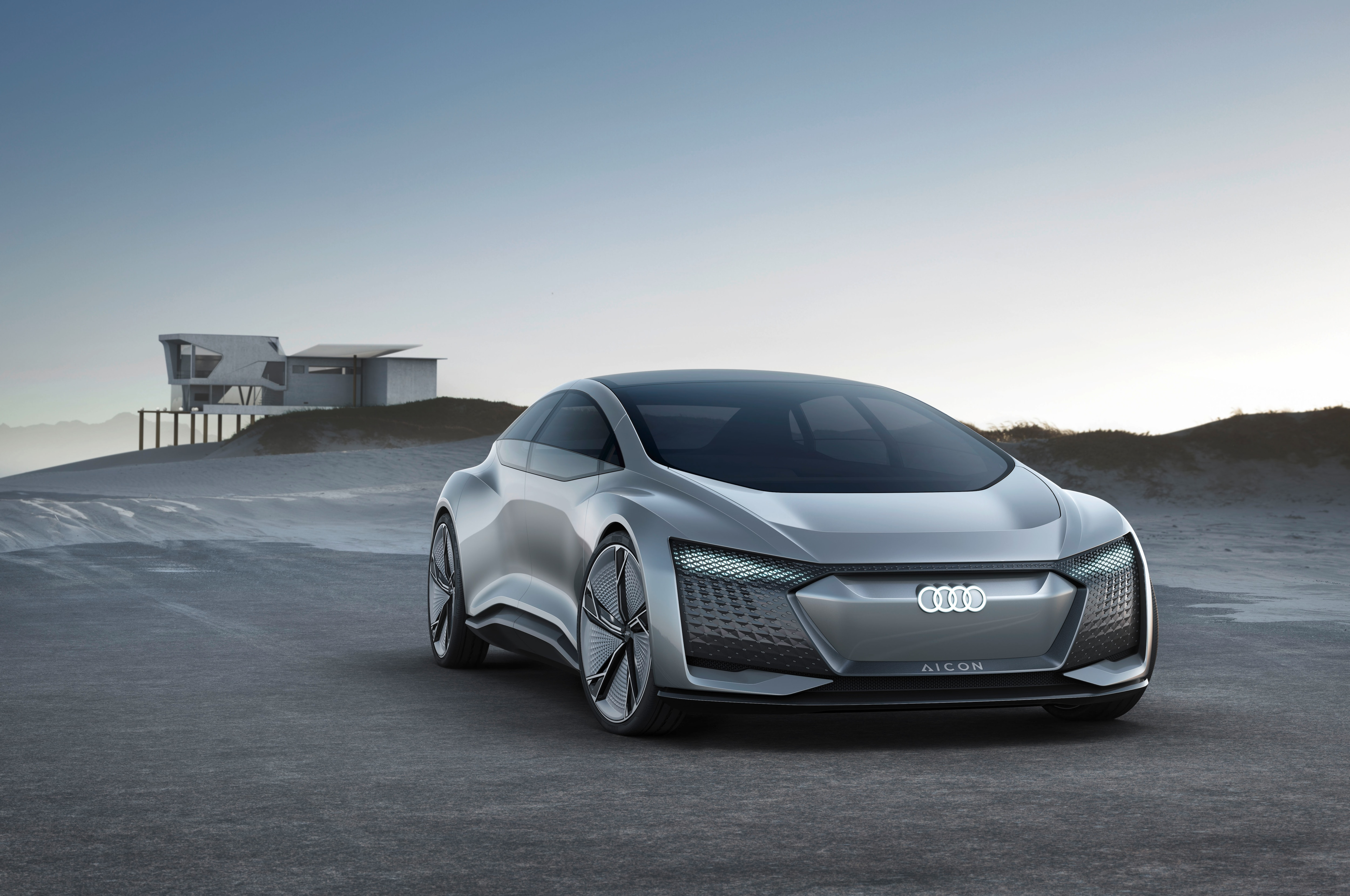 Audi Aicon Concept Front Three Quarters