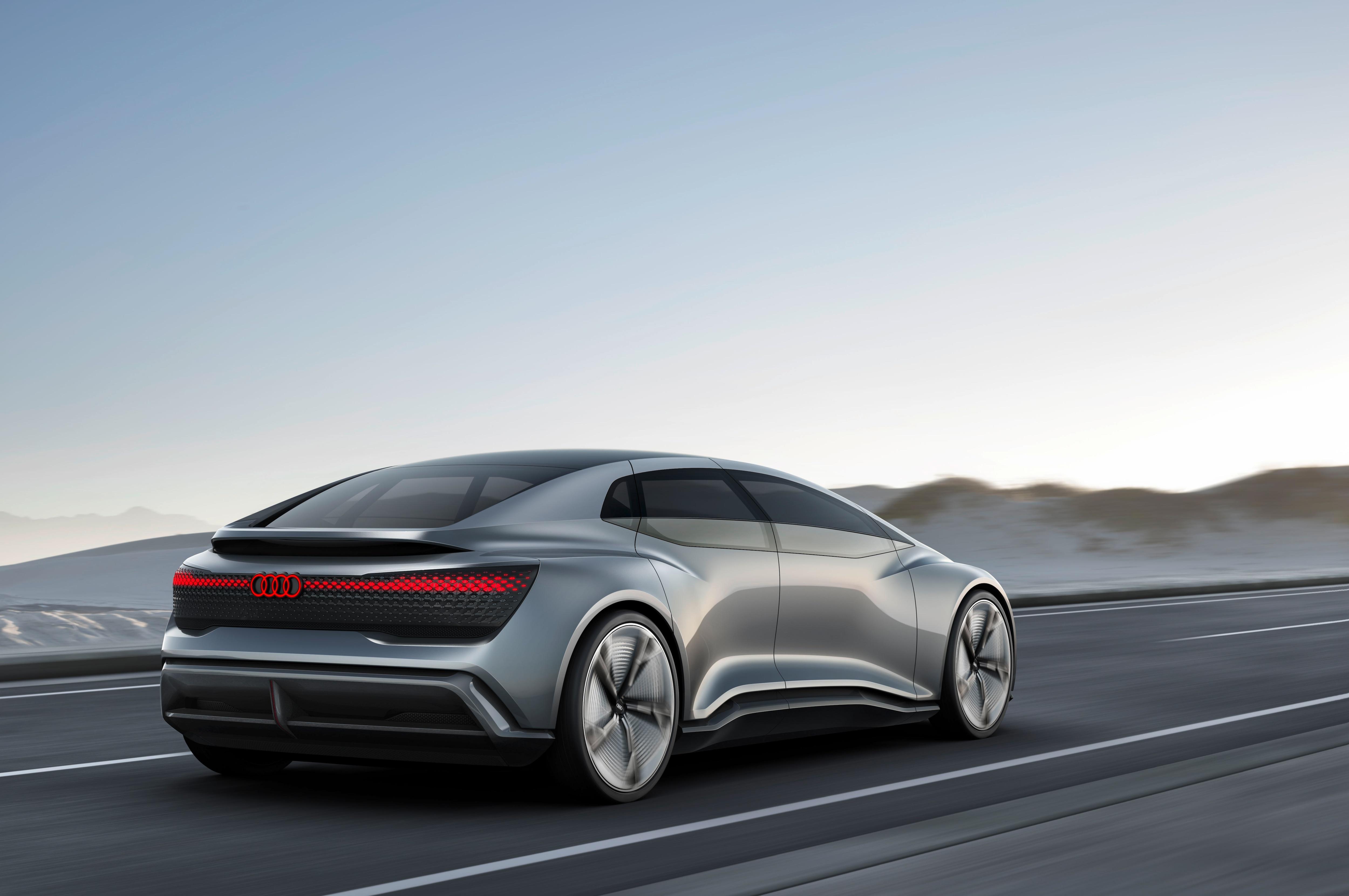 Audi Aicon Concept Is Yet Another Autonomous Show Car Automobile