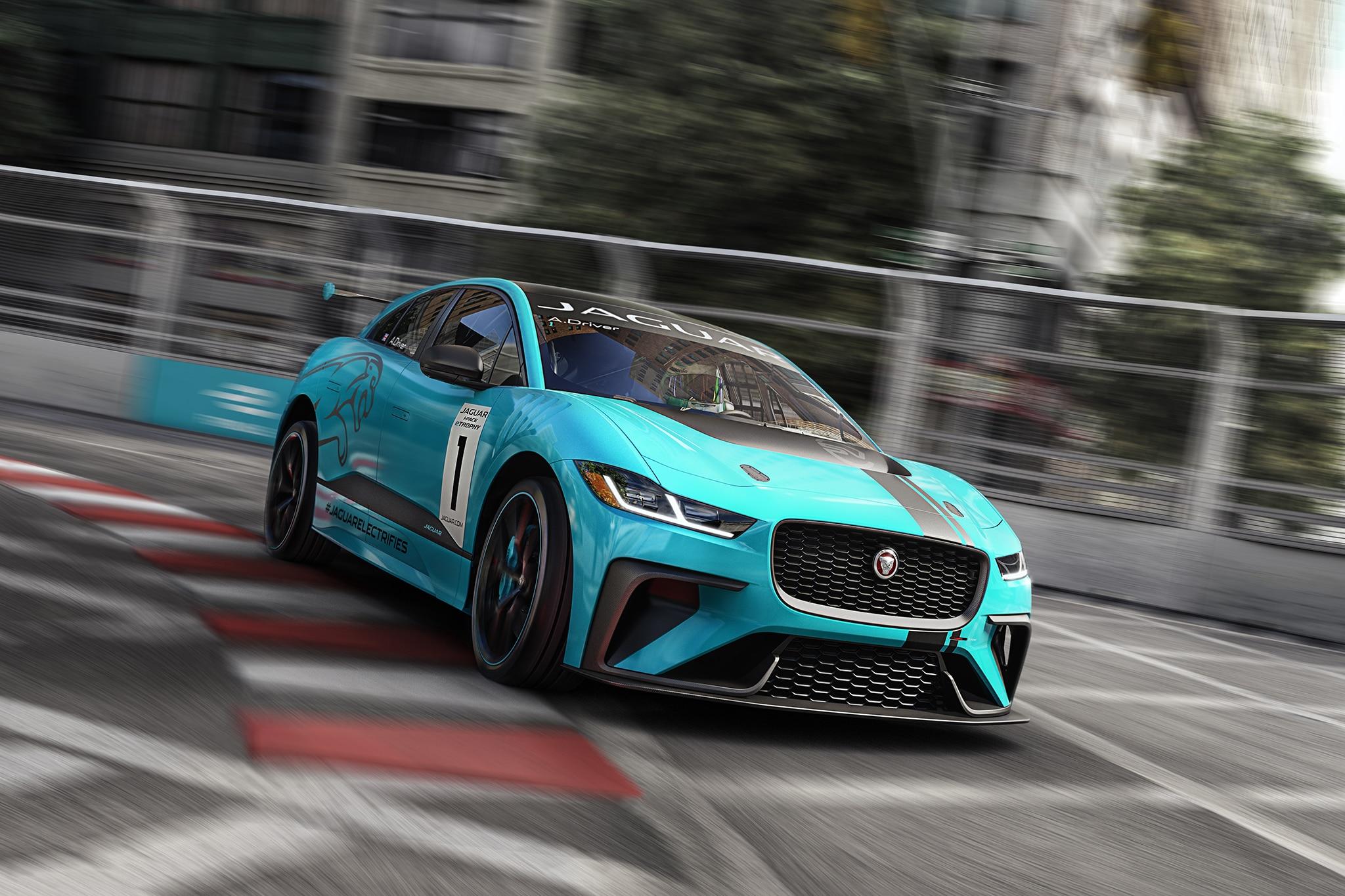 Jaguar I PACE ETROPHY Racecar Track 1 HERO