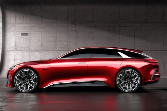 Kia Proceed Concept Side