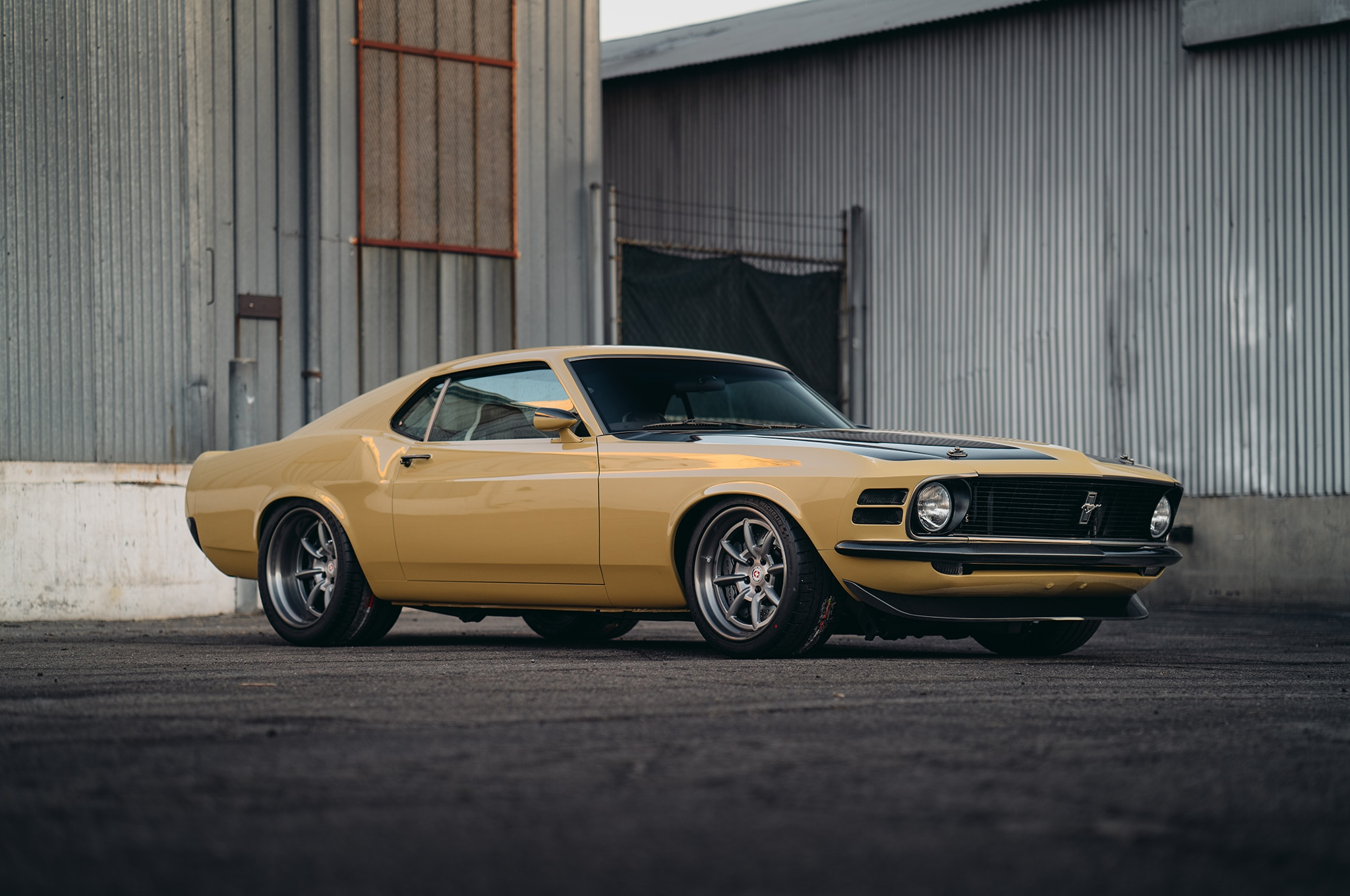 Speedkore Customizes A 1970 Ford Mustang Boss For Robert Downey Jr Paint Color Chart Show More