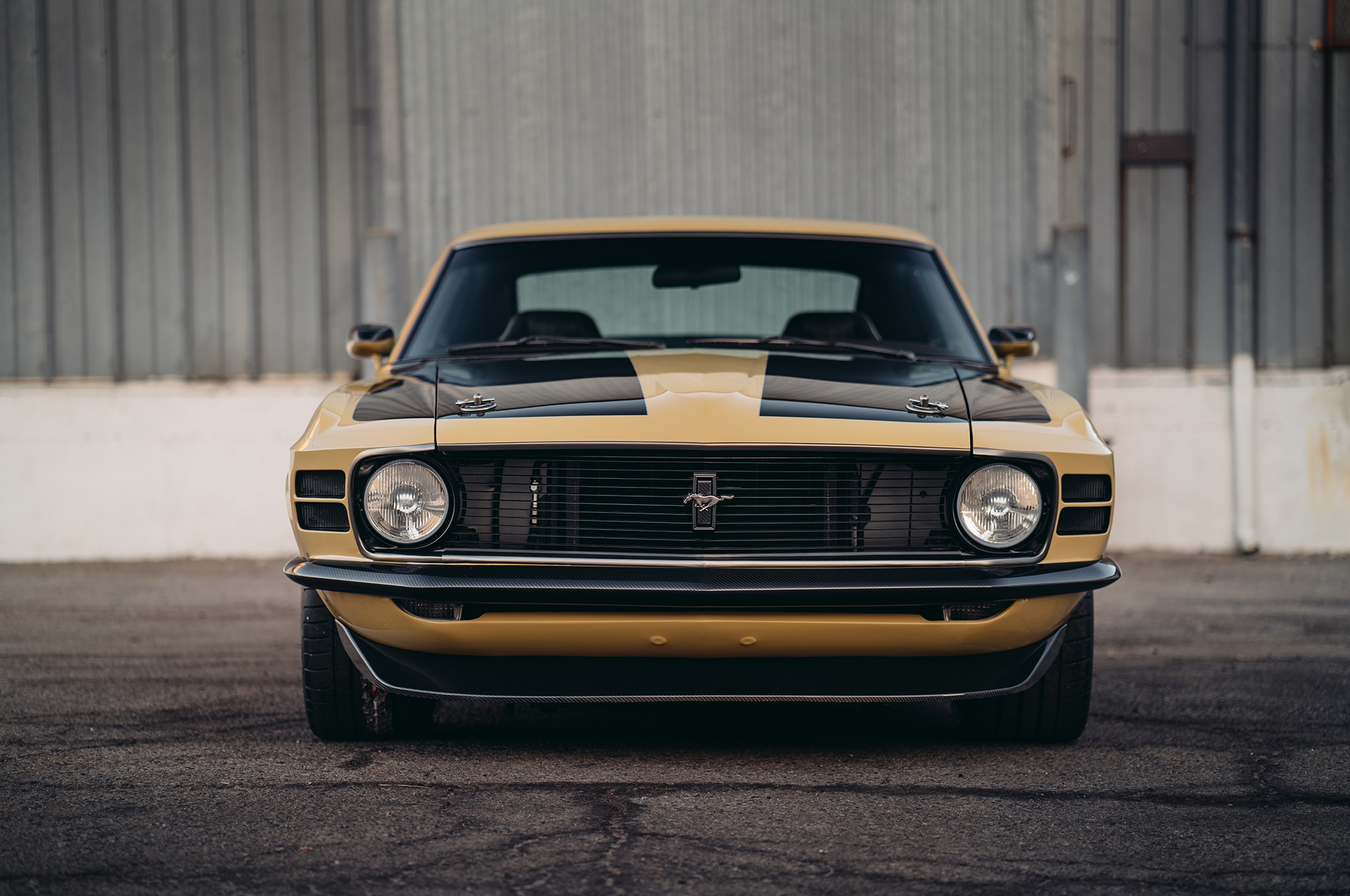 Speedkore Customizes A 1970 Ford Mustang Boss For Robert Downey Jr Gt Convertible Show More