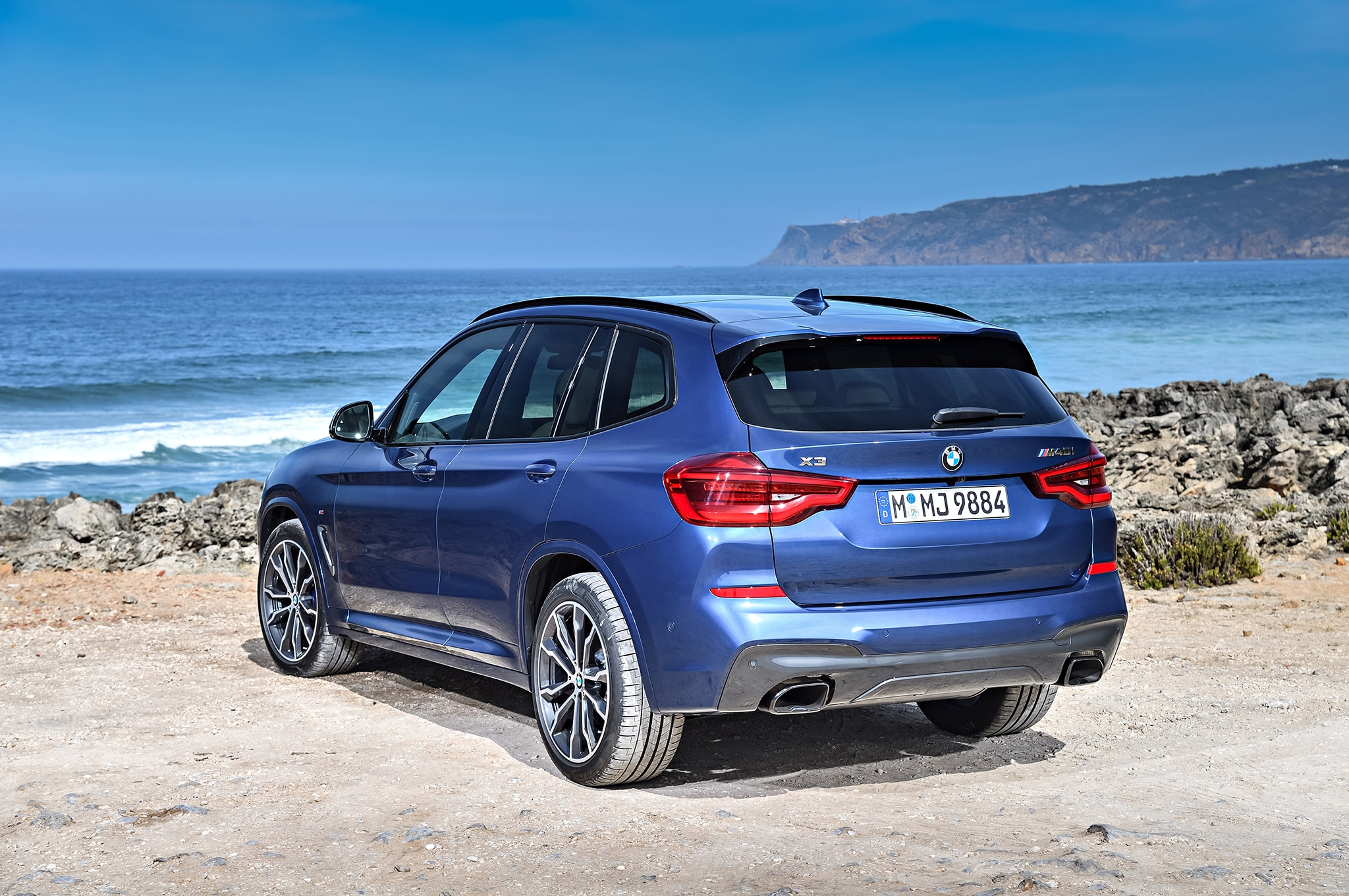 2018 bmw x3 almost ready for the big mall crawl automobile magazine. Black Bedroom Furniture Sets. Home Design Ideas