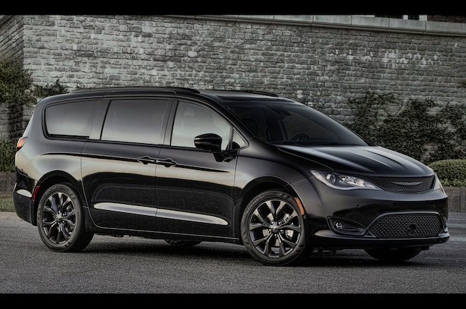 2018 Chrysler Pacifica Adds S Earance Package