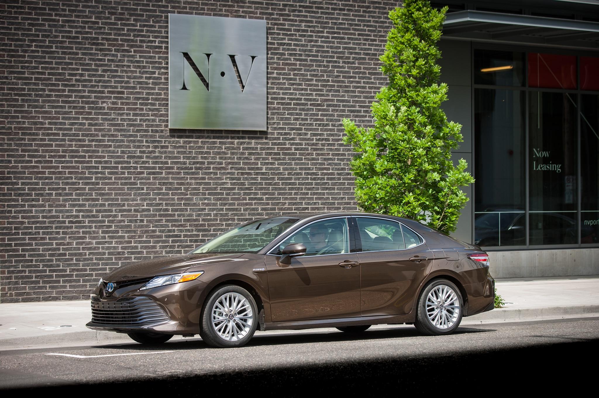 2019 Toyota Camry Hybrid Set For Europe Automobile Magazine