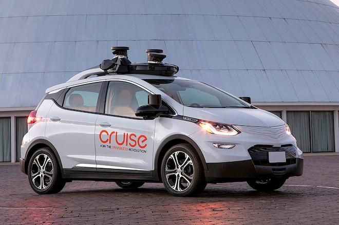 Chevrolet Bolt Cruise Self Driving Autonomous Car