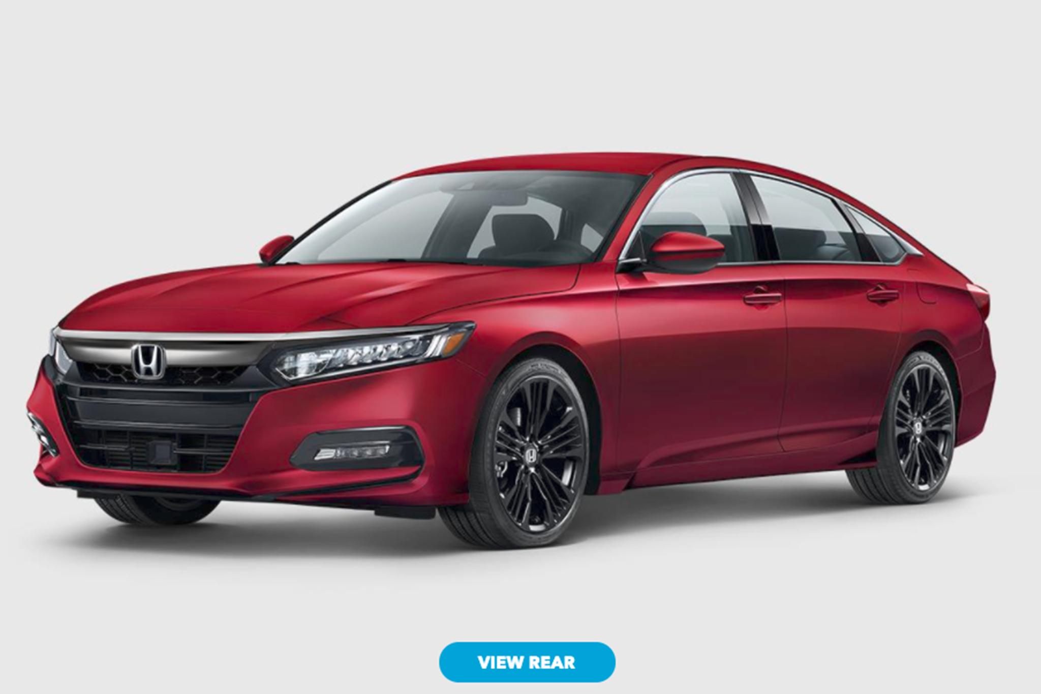 2018 Honda Accord Black >> 2018 Honda Accord Configurator is Live | Automobile Magazine