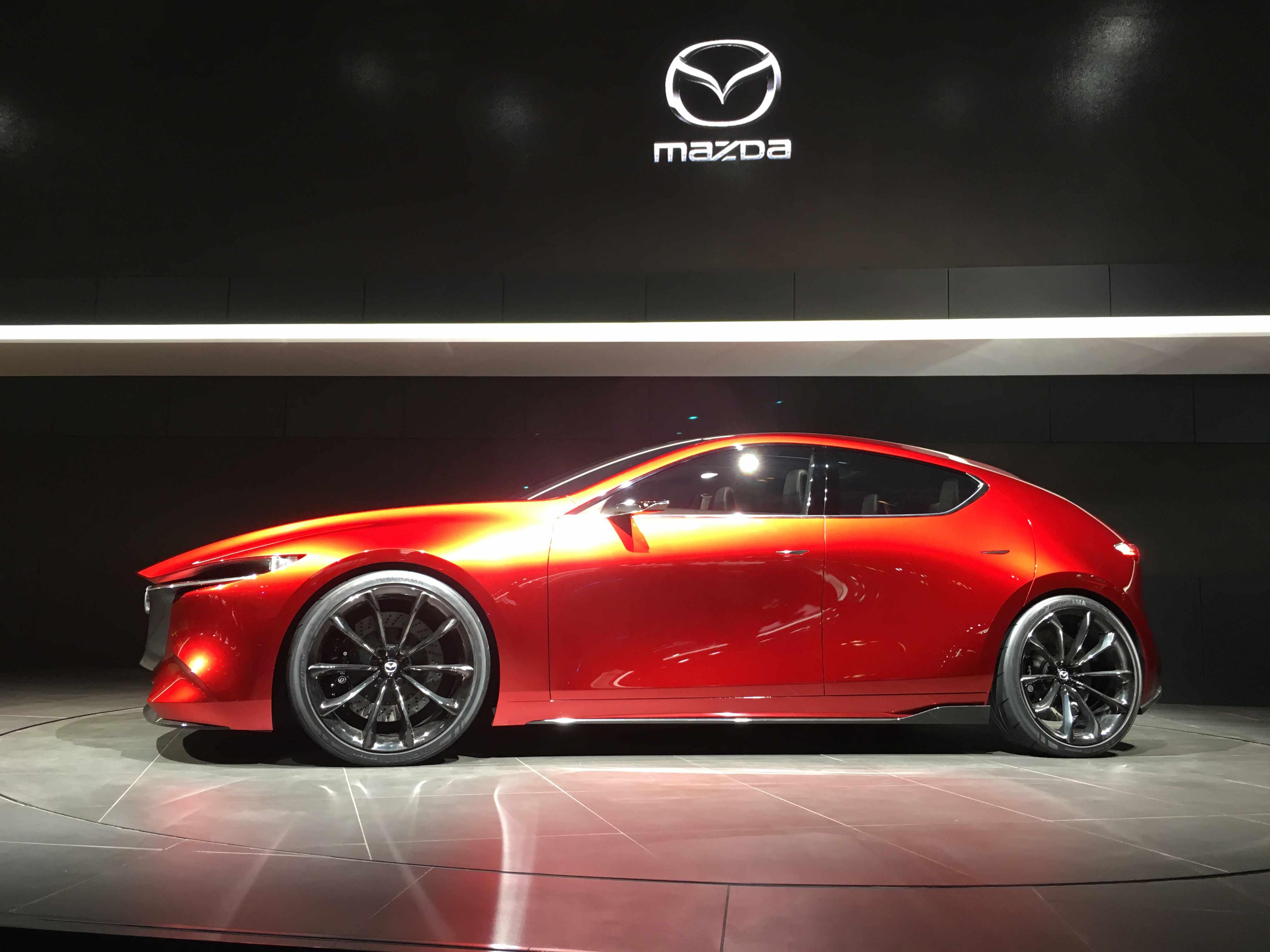 Mazda Kai Concept Profile On Stage