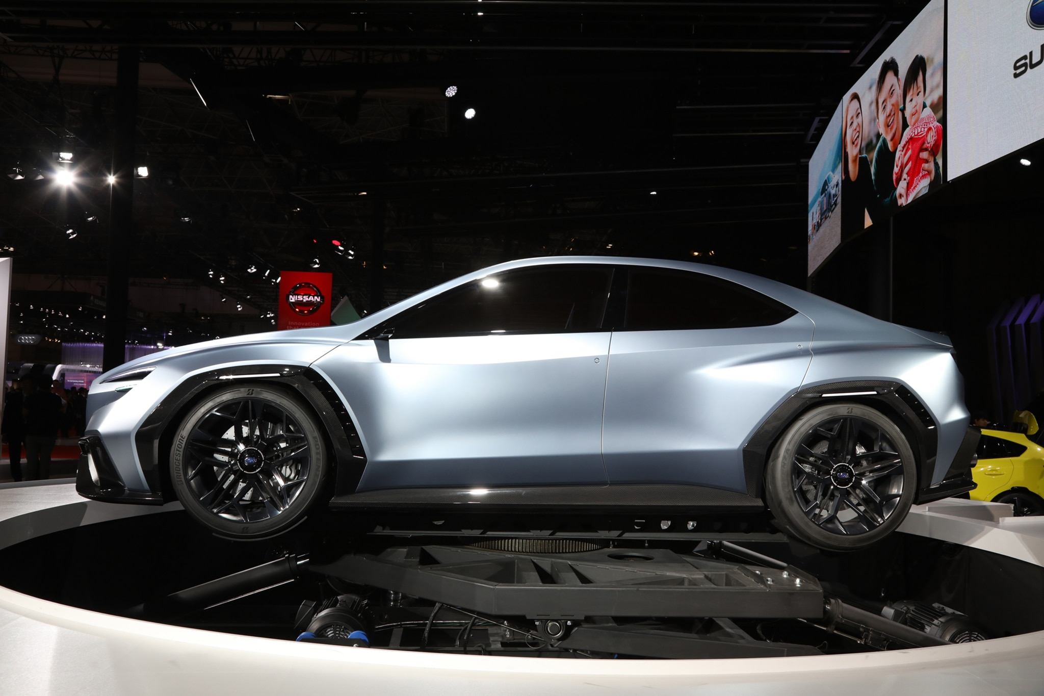 Subaru VIZIV Performance Concept Side Profile
