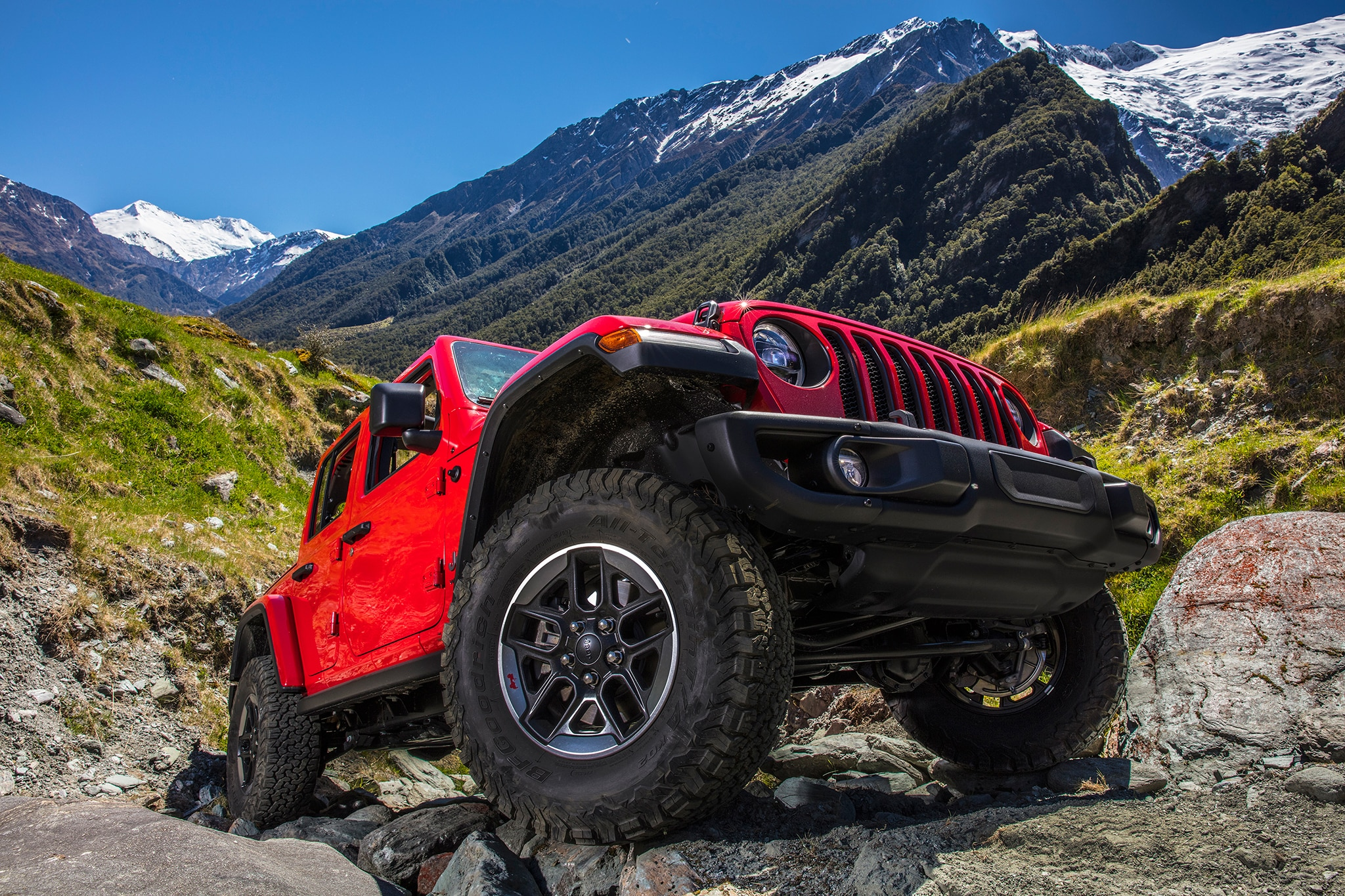 2018 Jeep Wrangler Unlimited Rubicon Tires