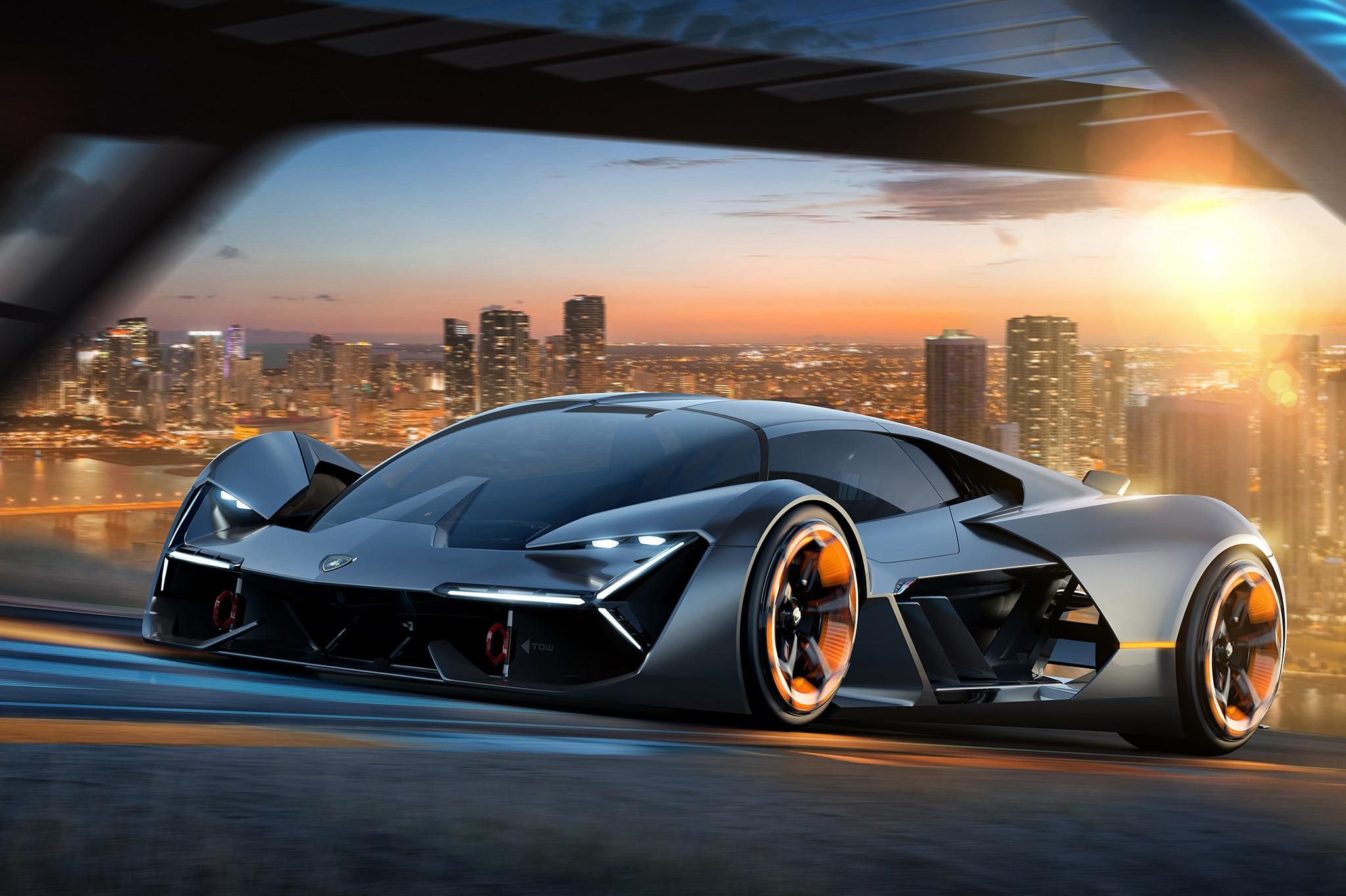 Lamborghini Terzo Millennio 3_4_front