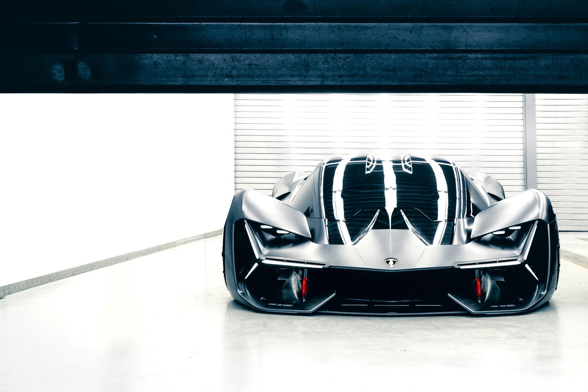 Lamborghini Terzo Millennio Is A Sinister Supercar Concept