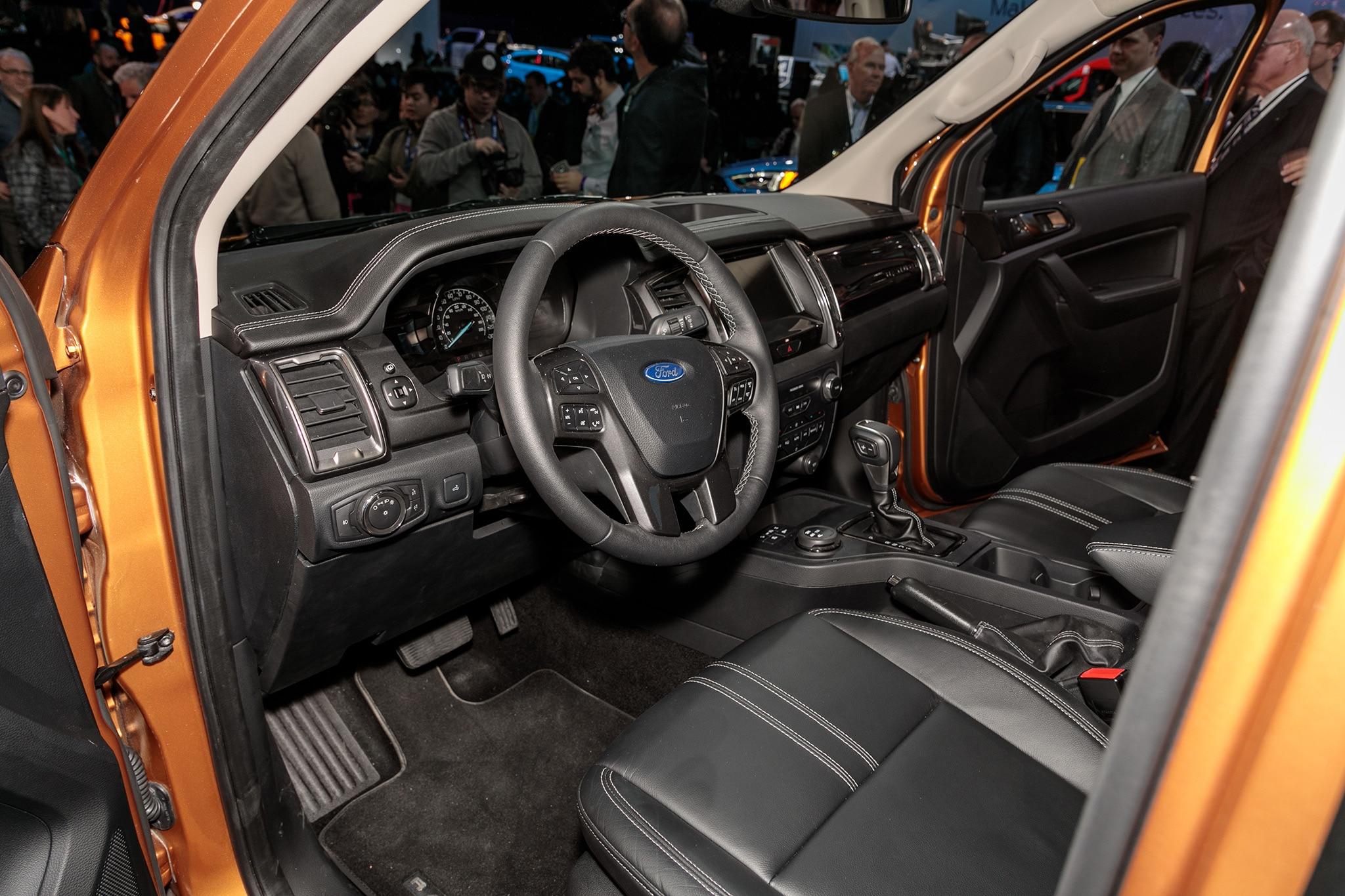 2019 Ford Ranger to Offer Blind Spot Monitoring for ...