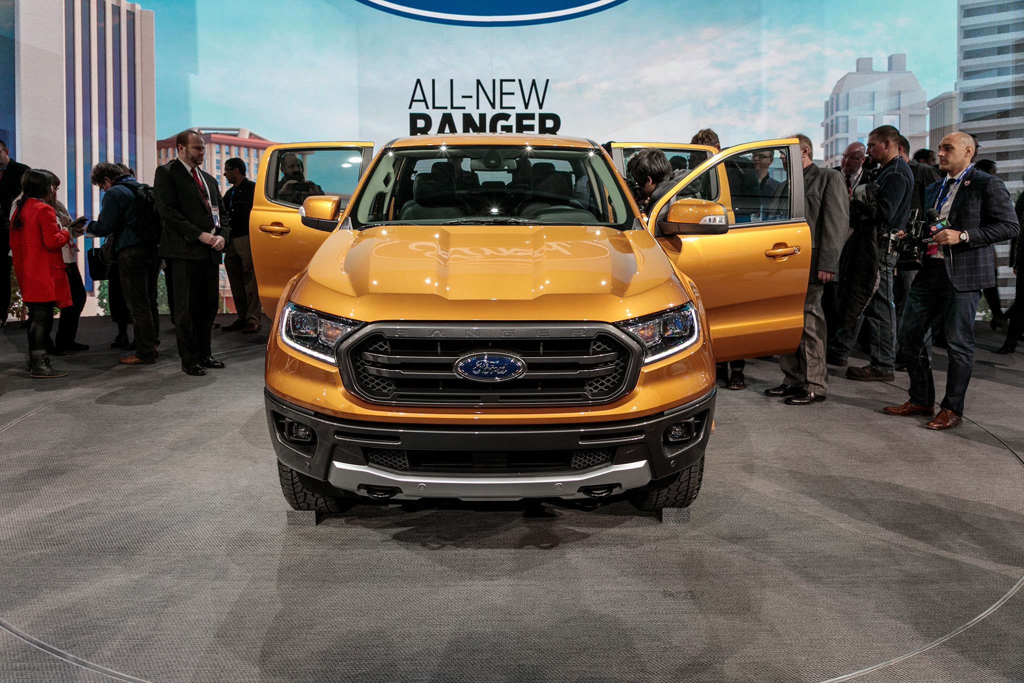 2019 Ford Ranger to Offer Blind Spot Monitoring for ...