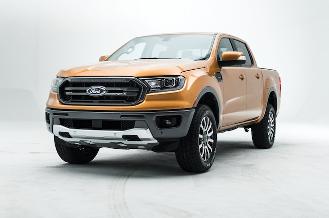 2019 Ford Ranger Front Side View