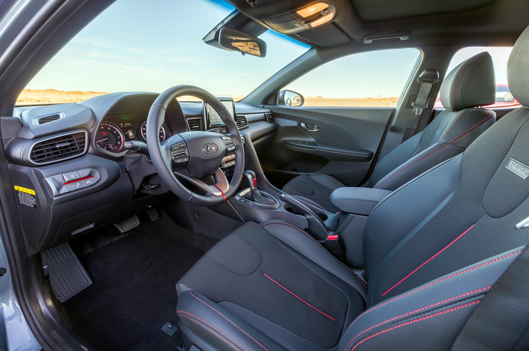 2019 hyundai veloster turbo starts at 23 785 automobile - Hyundai veloster interior accessories ...