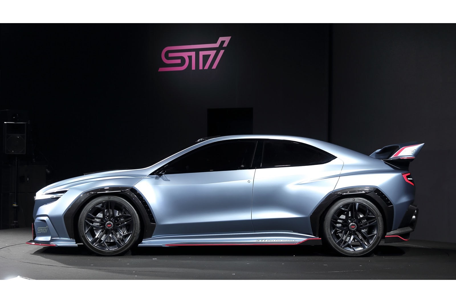 Subaru Viziv Performance Sti Concept Rocks Automobile Magazine