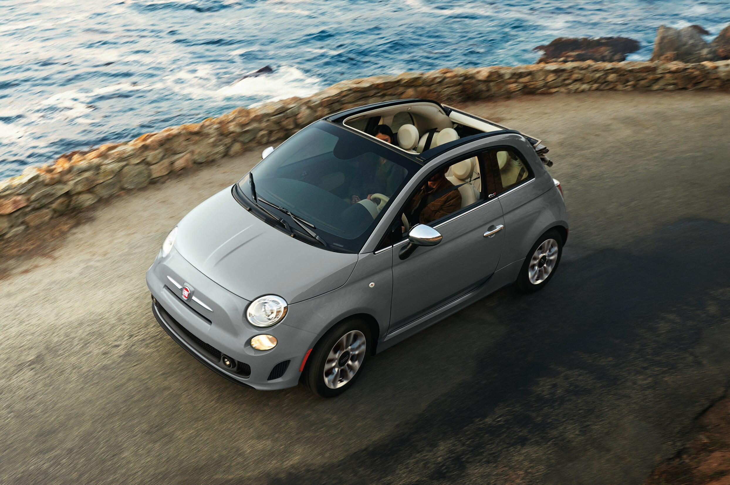 2018 Fiat 500c Front View