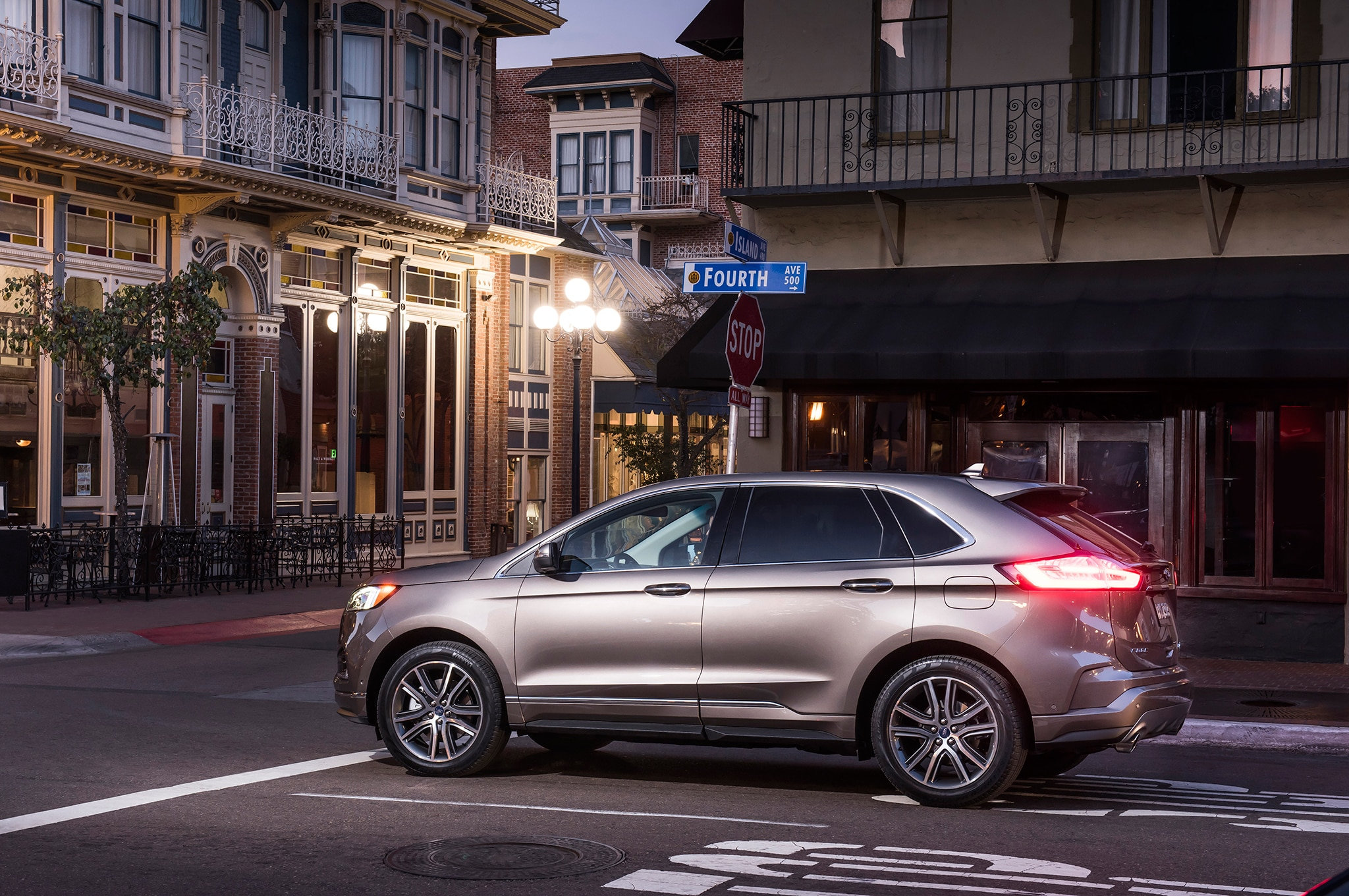 ford edge titanium elite package debuts  chicago automobile magazine