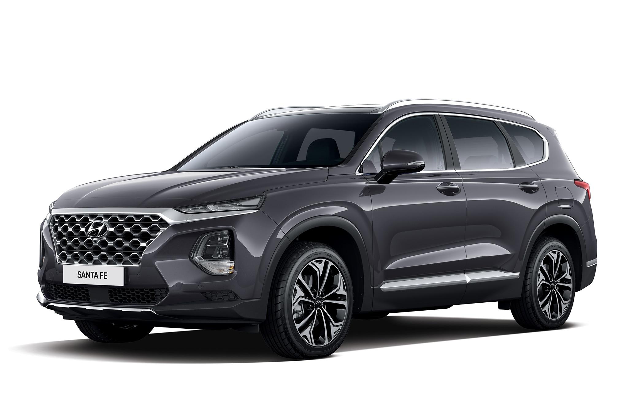 2019 Hyundai Santa Fe Korean Market Front Three Quarter 4