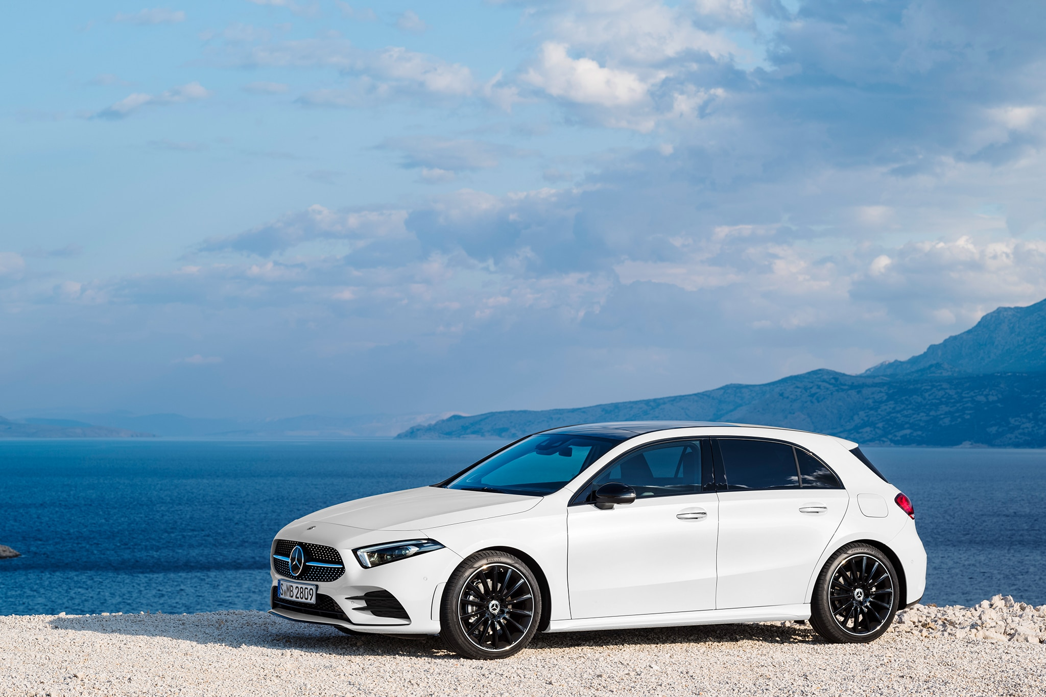 Mercedes Benz A Class Hatch Revealed Automobile Magazine