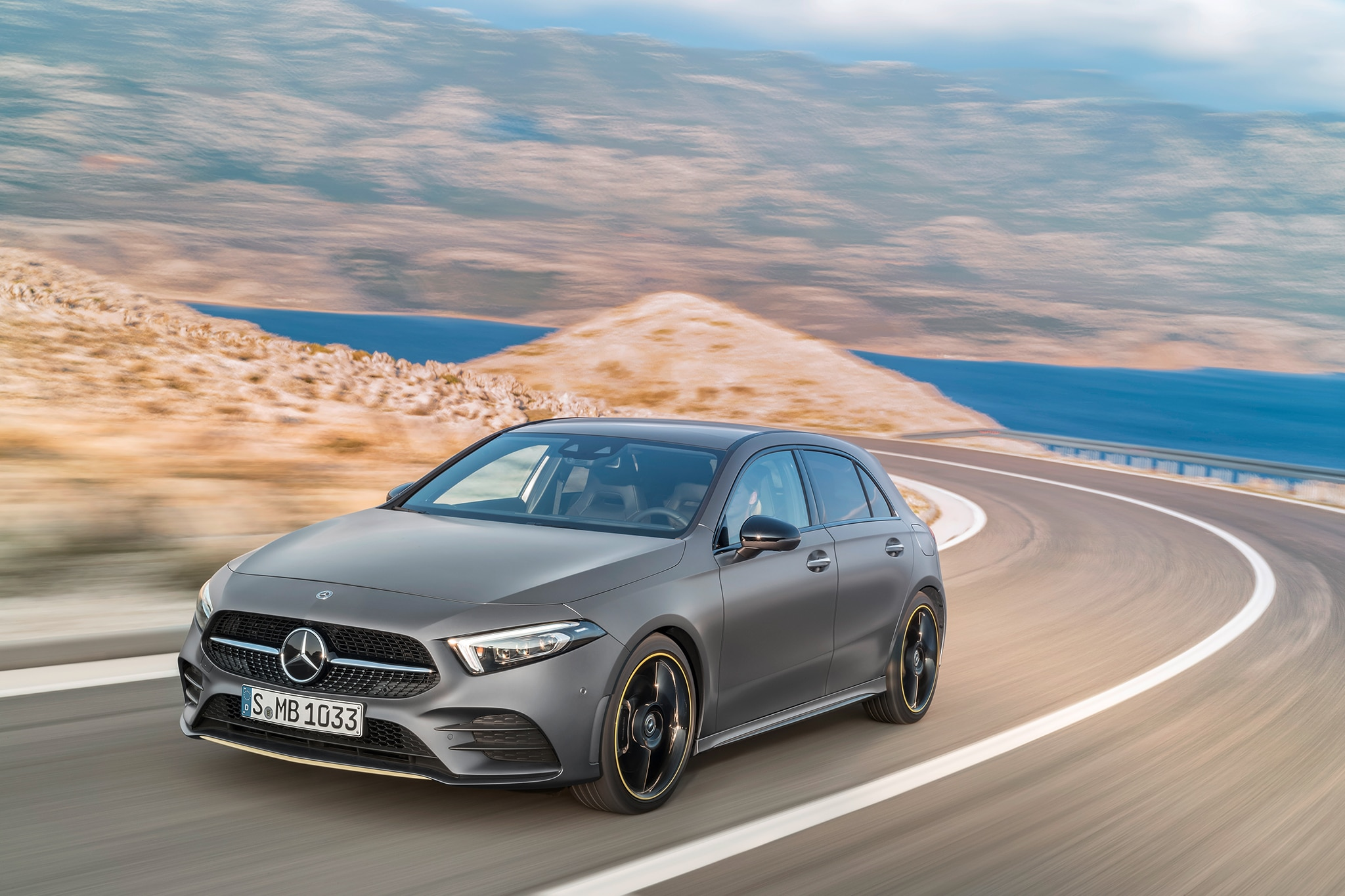 2019 Mercedes Benz A Class Hatchback European Spec 45